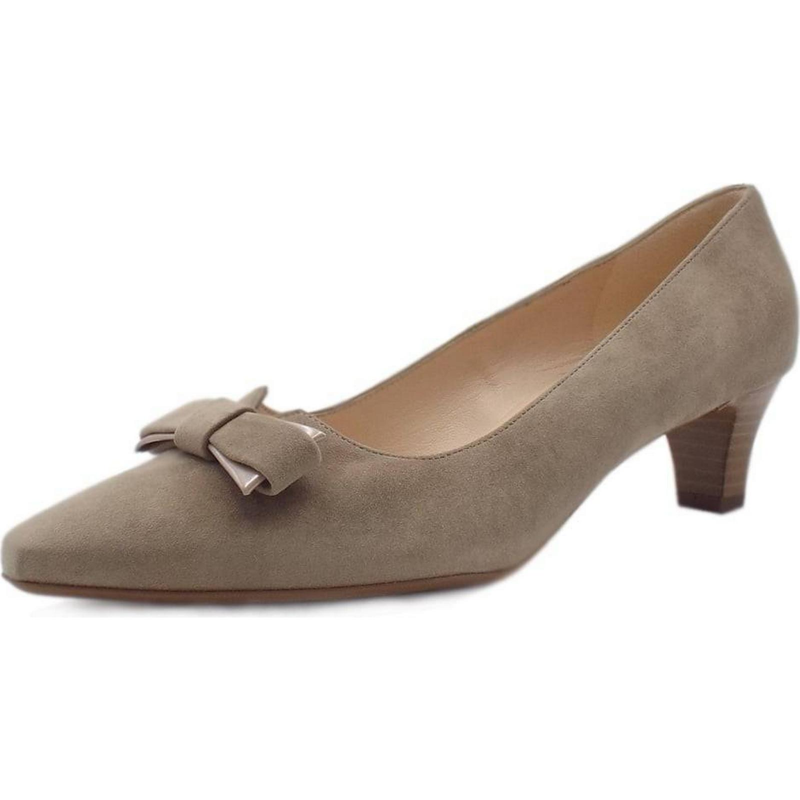 Peter Kaiser SARIS SHOES PETER KAISER 45MM LADIES SHOES SARIS Colour: TAUPE SUEDE, 9b4939