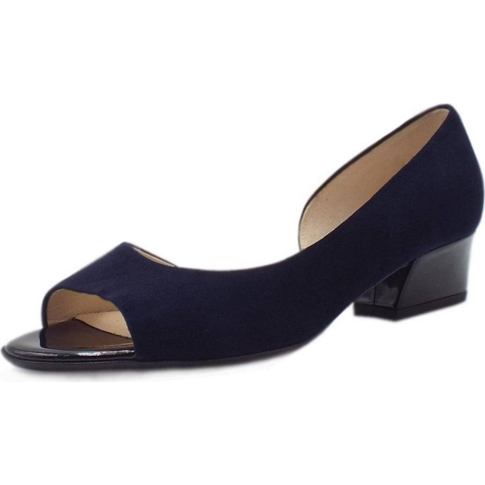 Peter Kaiser Size: PURA 35MM OPEN SIDE OPEN TOE SHOE Size: Kaiser 4, Colour: NOTTE cbbbe6