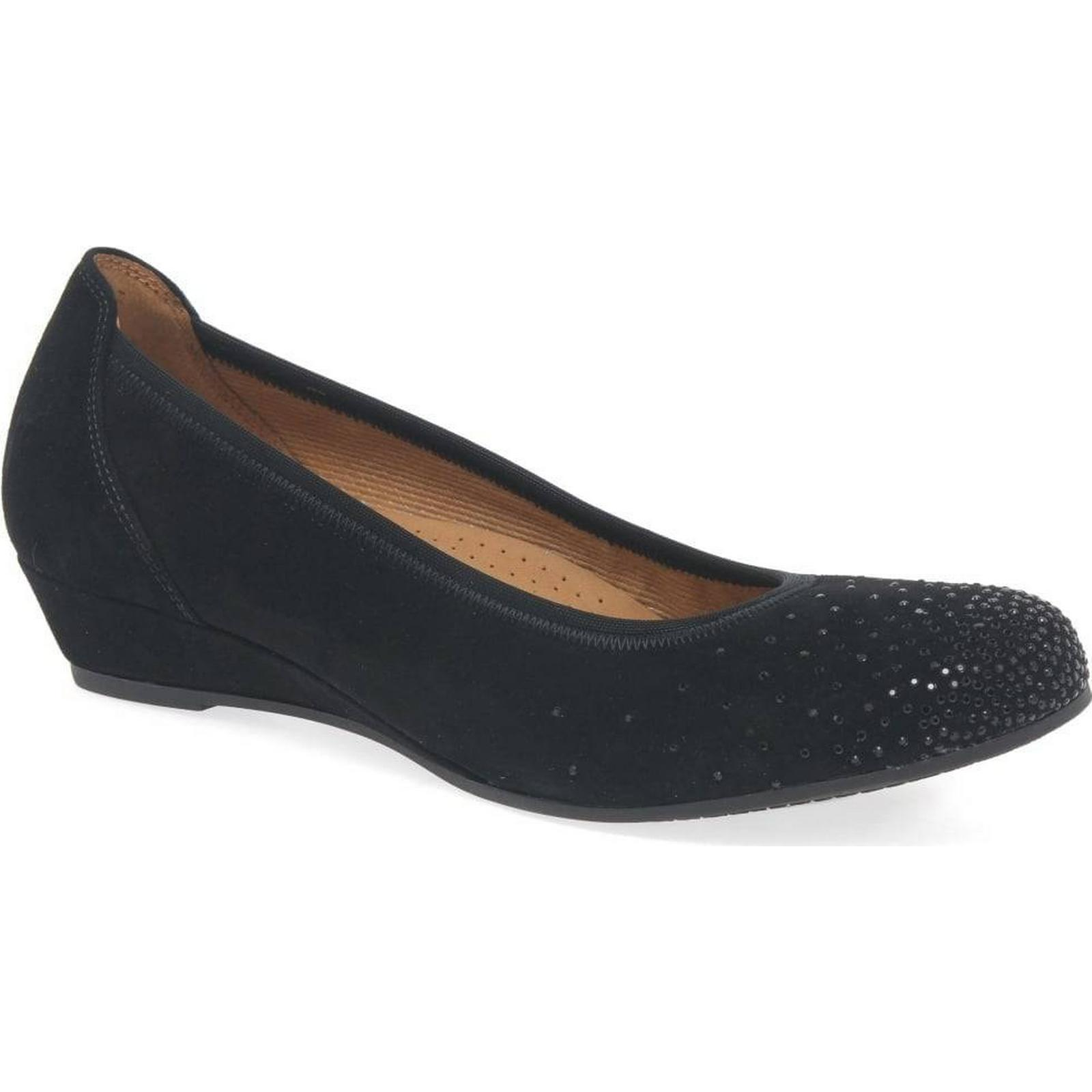 Gabor Arya Womens Casual Shoes 4.5 Colour: Black Suede, Size: 4.5 Shoes 9327b1