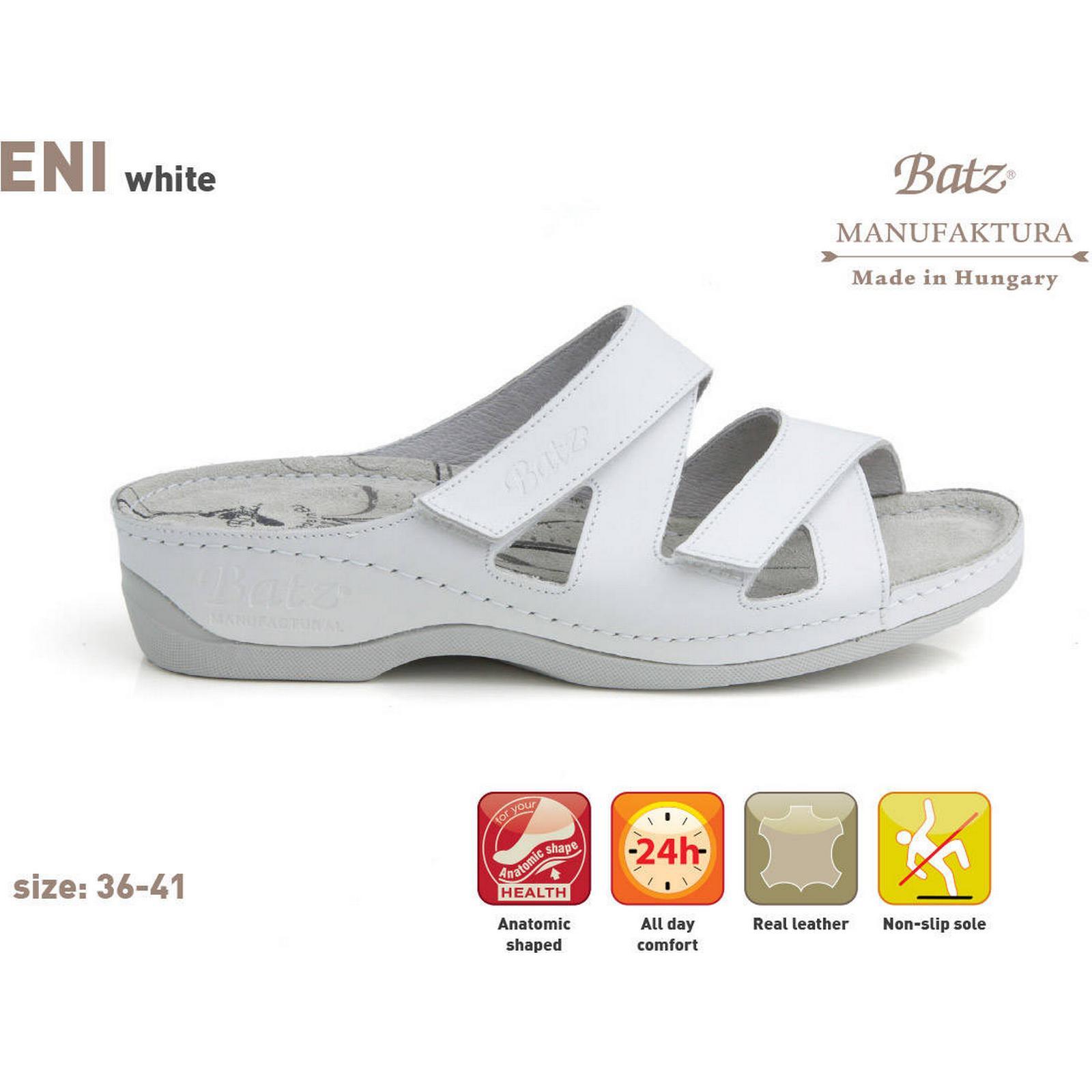 BatzShop Batz ENI - white 5) - EU 38 (UK 5) white dbe733
