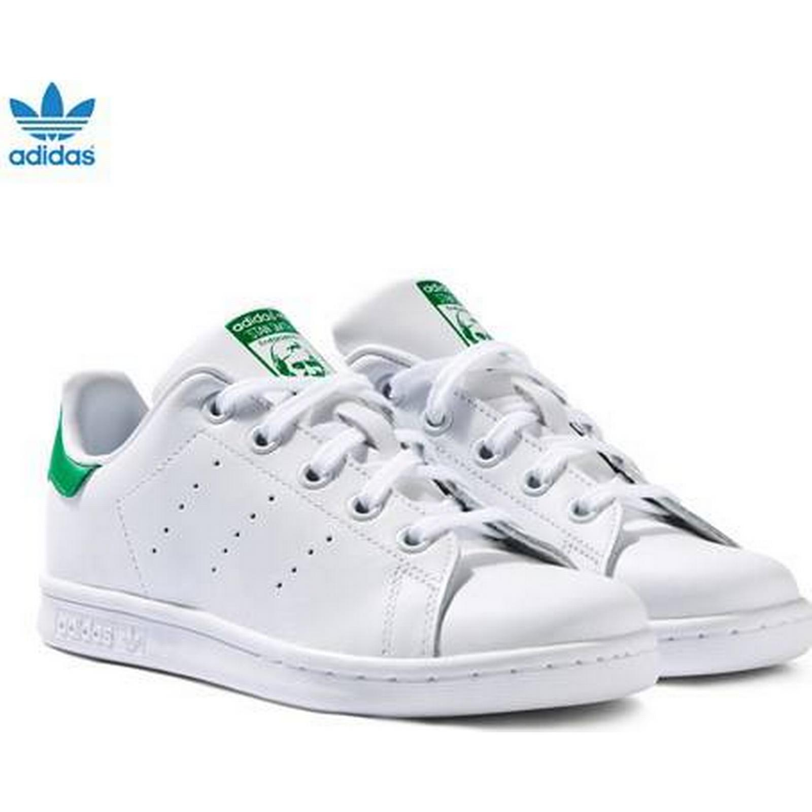 White and Green Stan Stan Green Smith Trainers 8a0c28