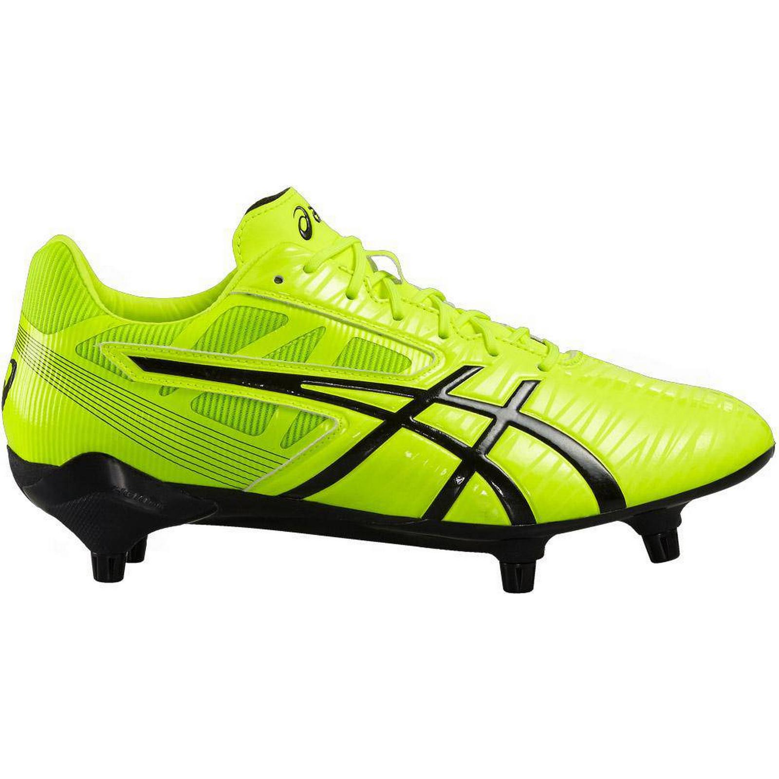 Rugby Factory Shop Boots Asics Gel-Lethal Speed Rugby Boots Shop Safety Yellow/Black #UK 10.5 5cc662