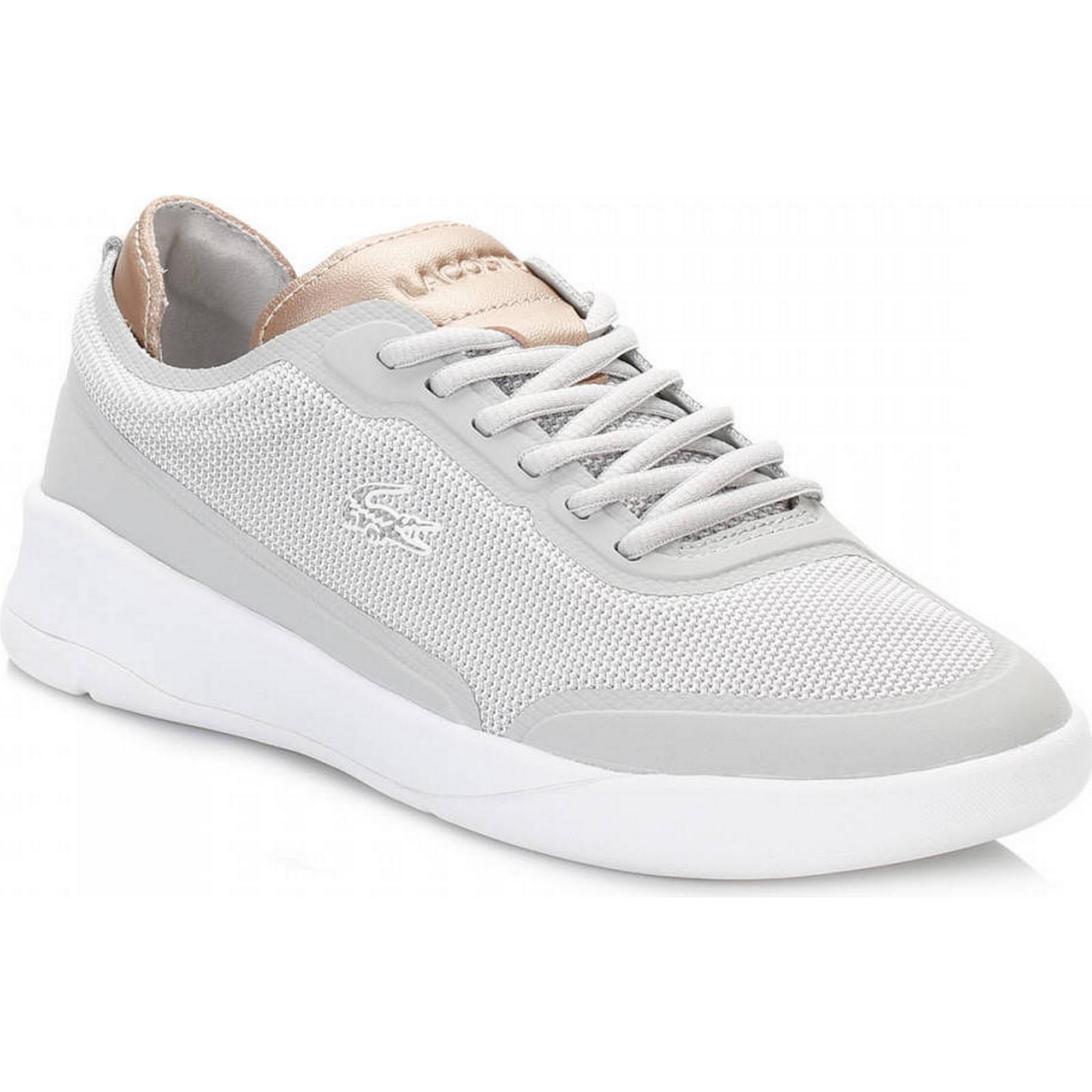 Lacoste Womens Elite Light Grey LT Spirit Elite Womens 117 2 SPW Trainers 3f5674