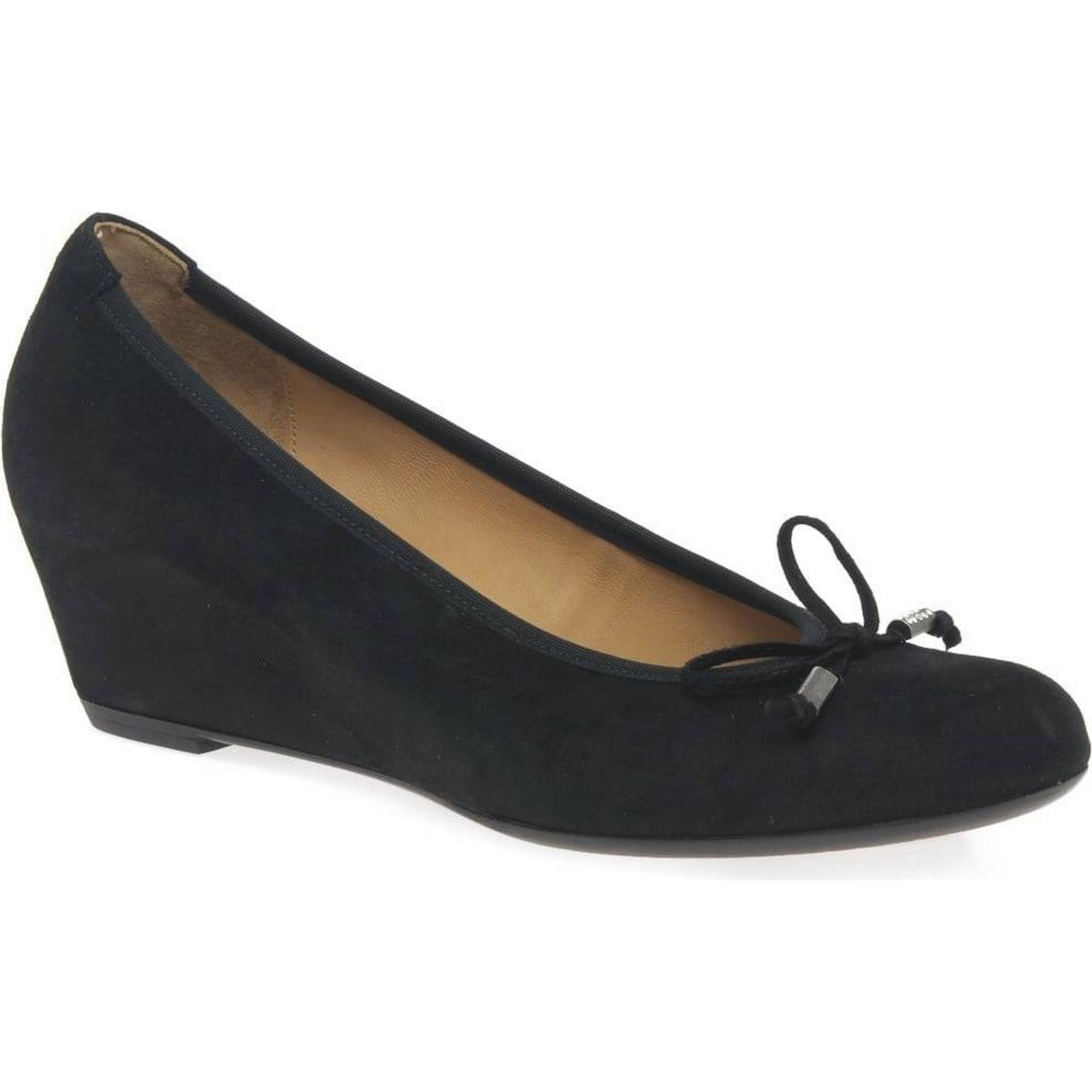 Gabor Alvin Black Womens Casual Shoes Colour: Black Alvin Suede, Size: 6.5 1ed96f
