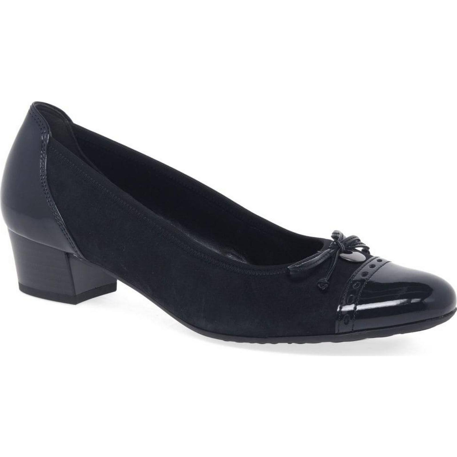 Gabor Islay Womens Casual Shoes 3 Colour: Pacific Suede/Patent, Size: 3 Shoes 84169f