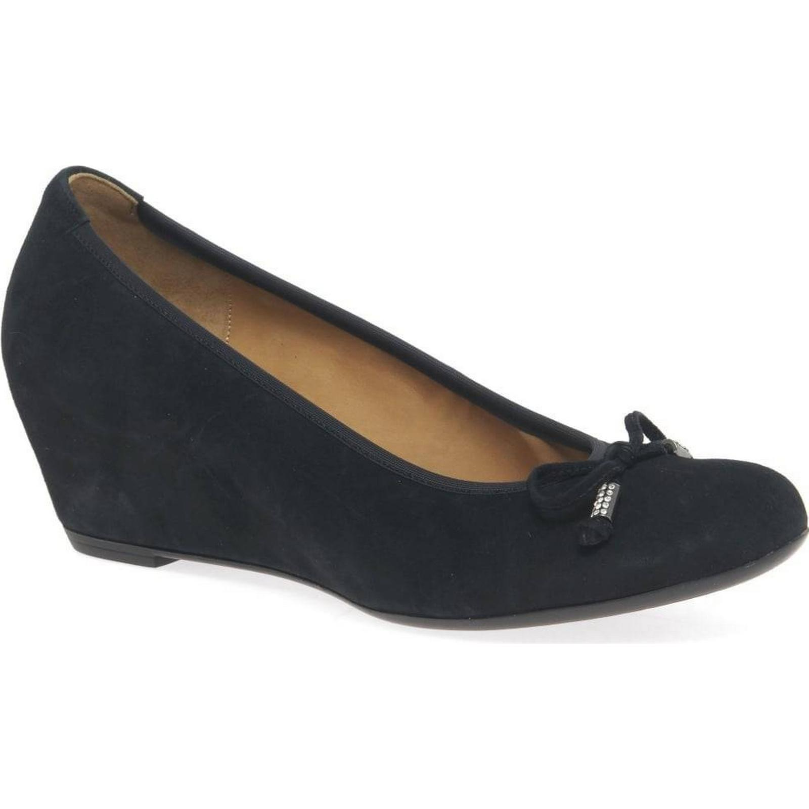 Gabor Alvin Womens Suede, Casual Shoes Colour: Pacific Suede, Womens Size: 3.5 679a46