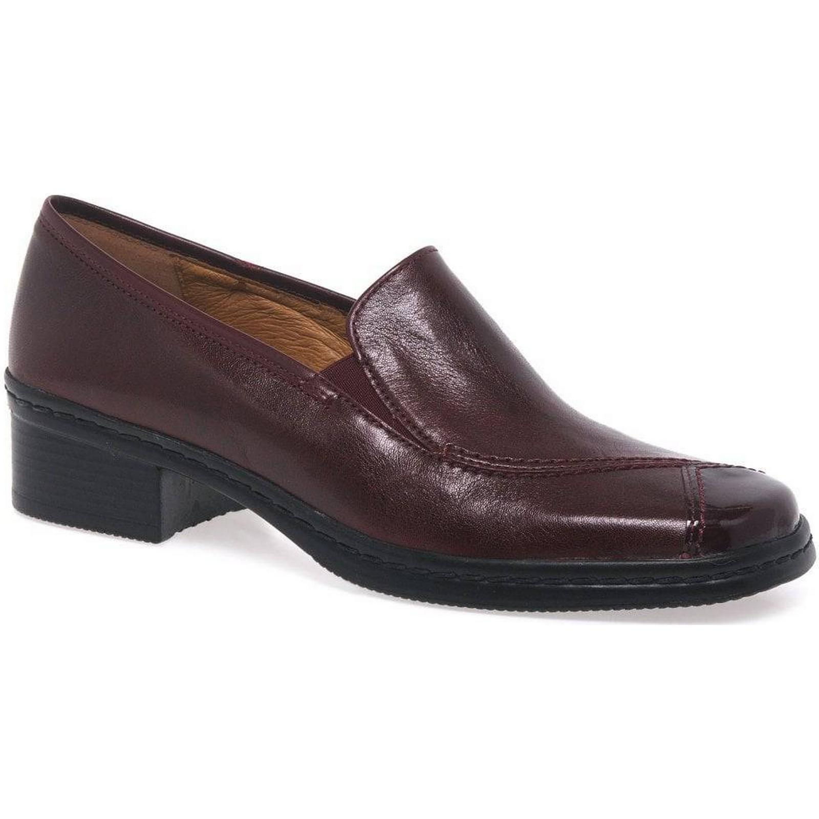 Gabor Frith Womens Red/Patent, Casual Shoes Colour: Dark Red/Patent, Womens Size: 5.5 6d13d0
