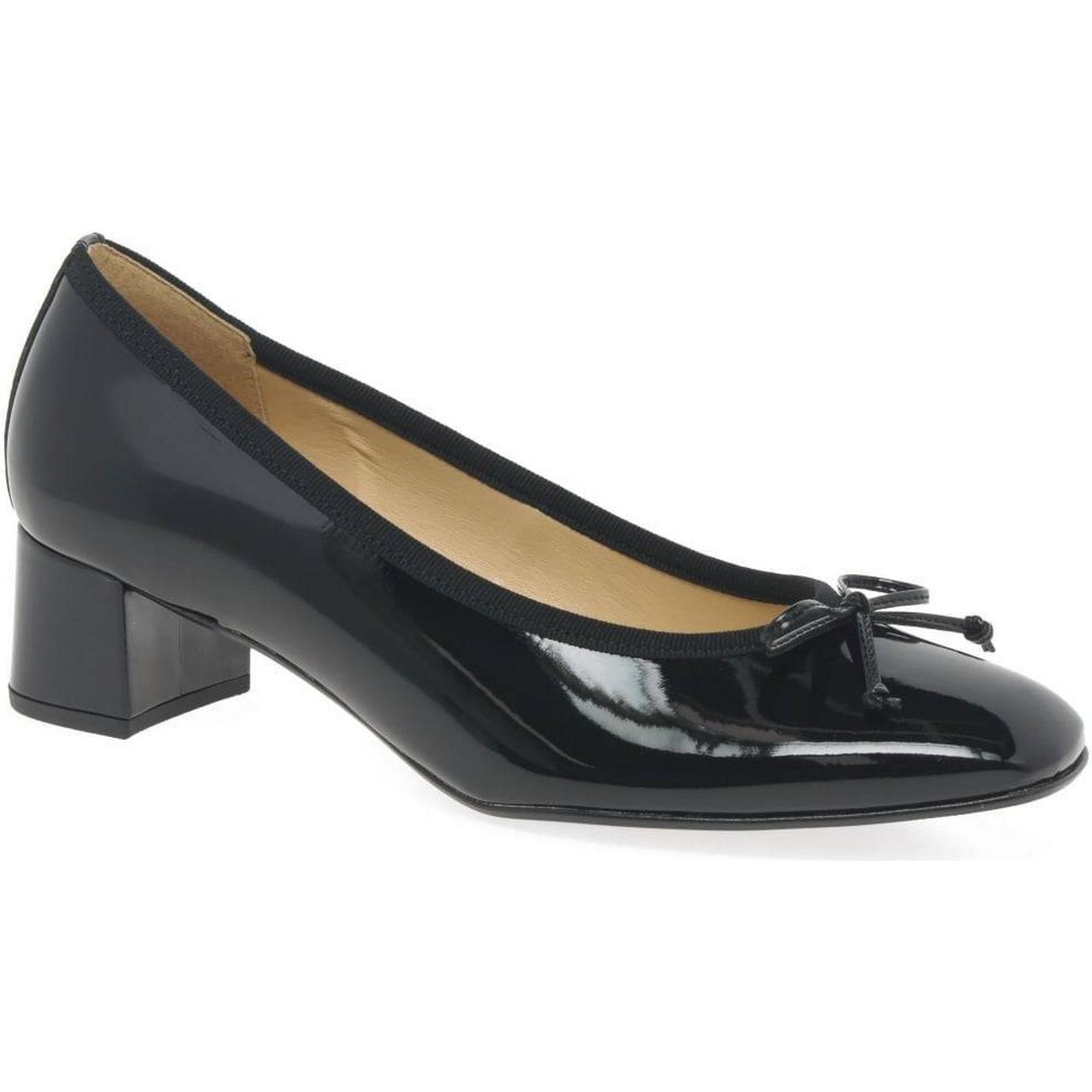 Gabor Belfast Womens Court Hi-Tec, Shoes Colour: Black Patent Hi-Tec, Court Size: 8. 73abcd