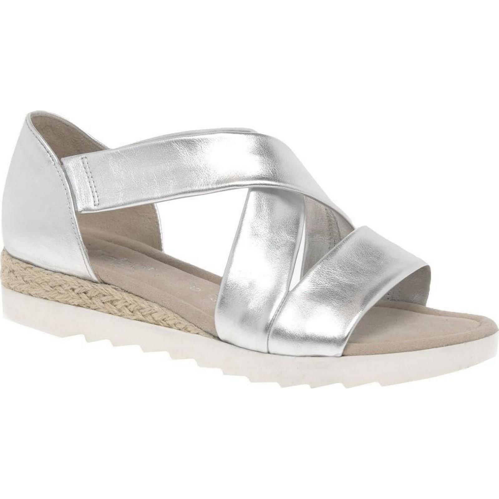 Gabor Promise Womens Sandals Colour: 3.5 Silver, Size: 3.5 Colour: cc9efe