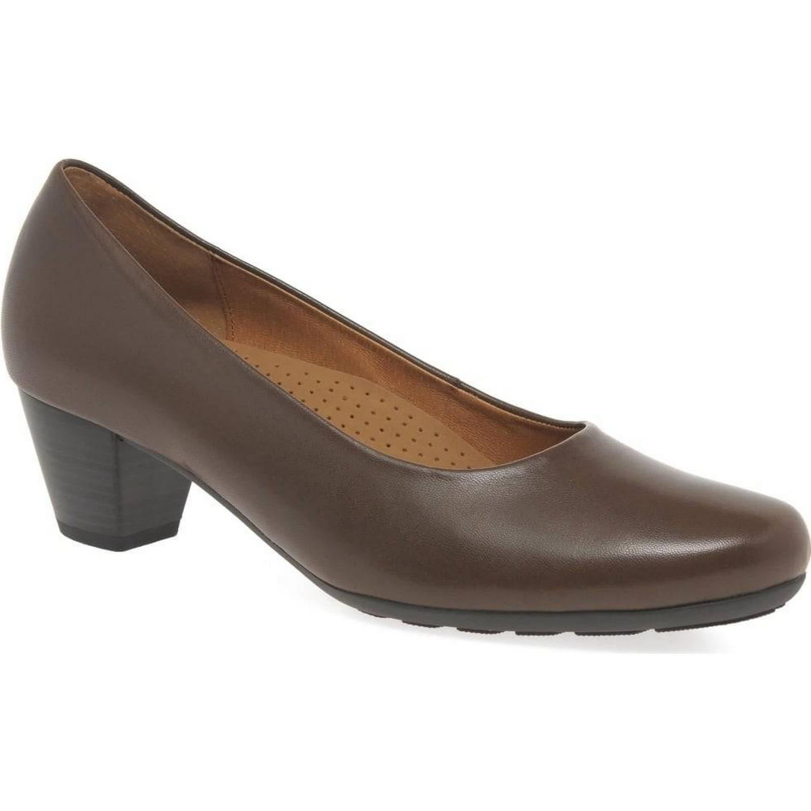 Gabor Brambling Colour: Womens Court Shoes Colour: Brambling Coffee, Size: 6.5 f021ad