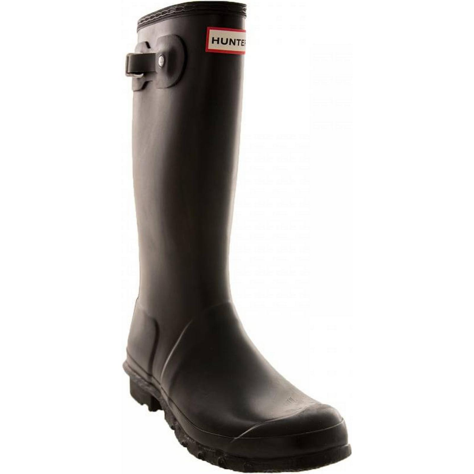 Hunter Infants Size: Original Wellington Boots (Black) Size: Infants 10, Colour: BLA eff083