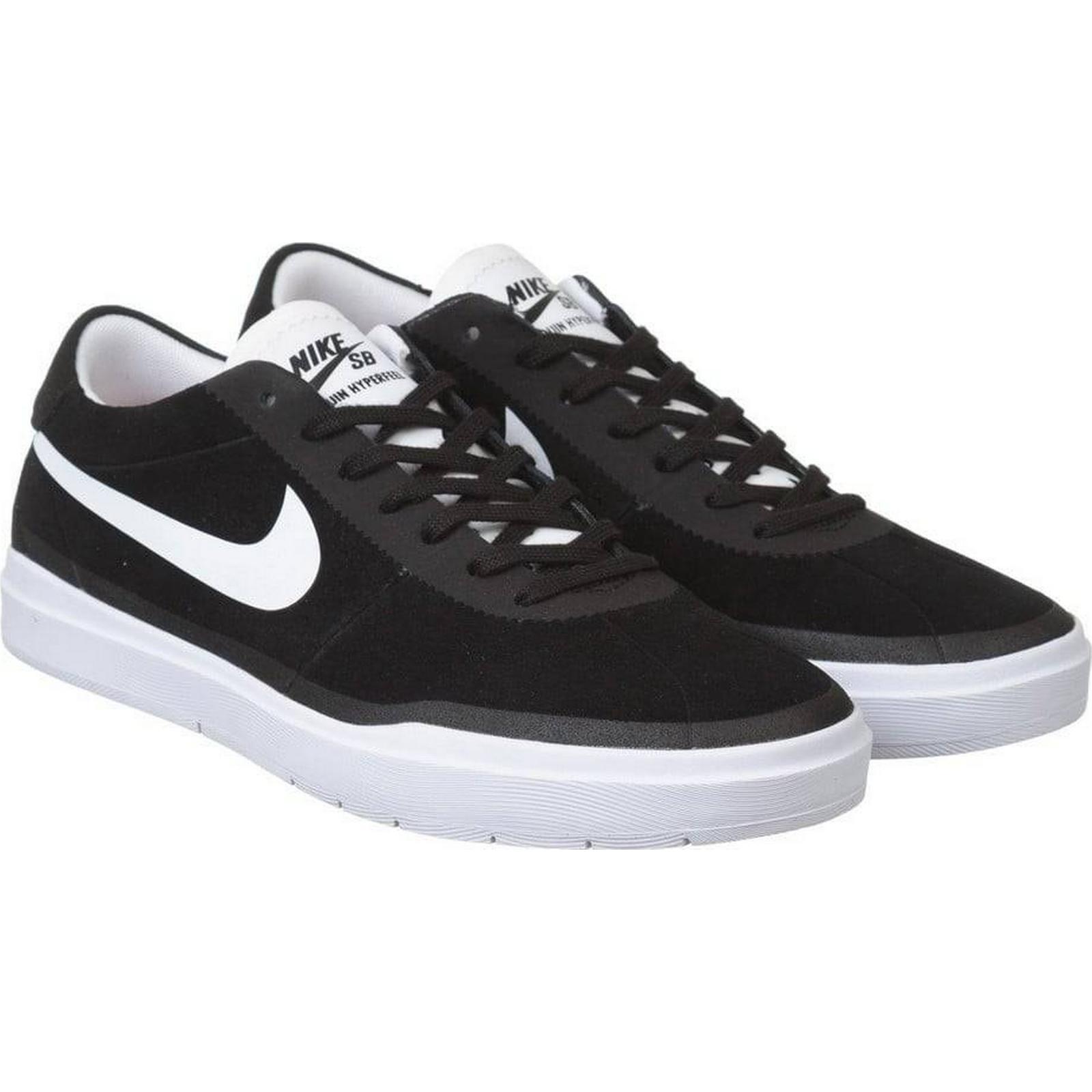 Nike SB Bruin Hyperfeel Shoes 8, - Black/White Size: UK 8, Shoes Colour: Black/ 8c579d