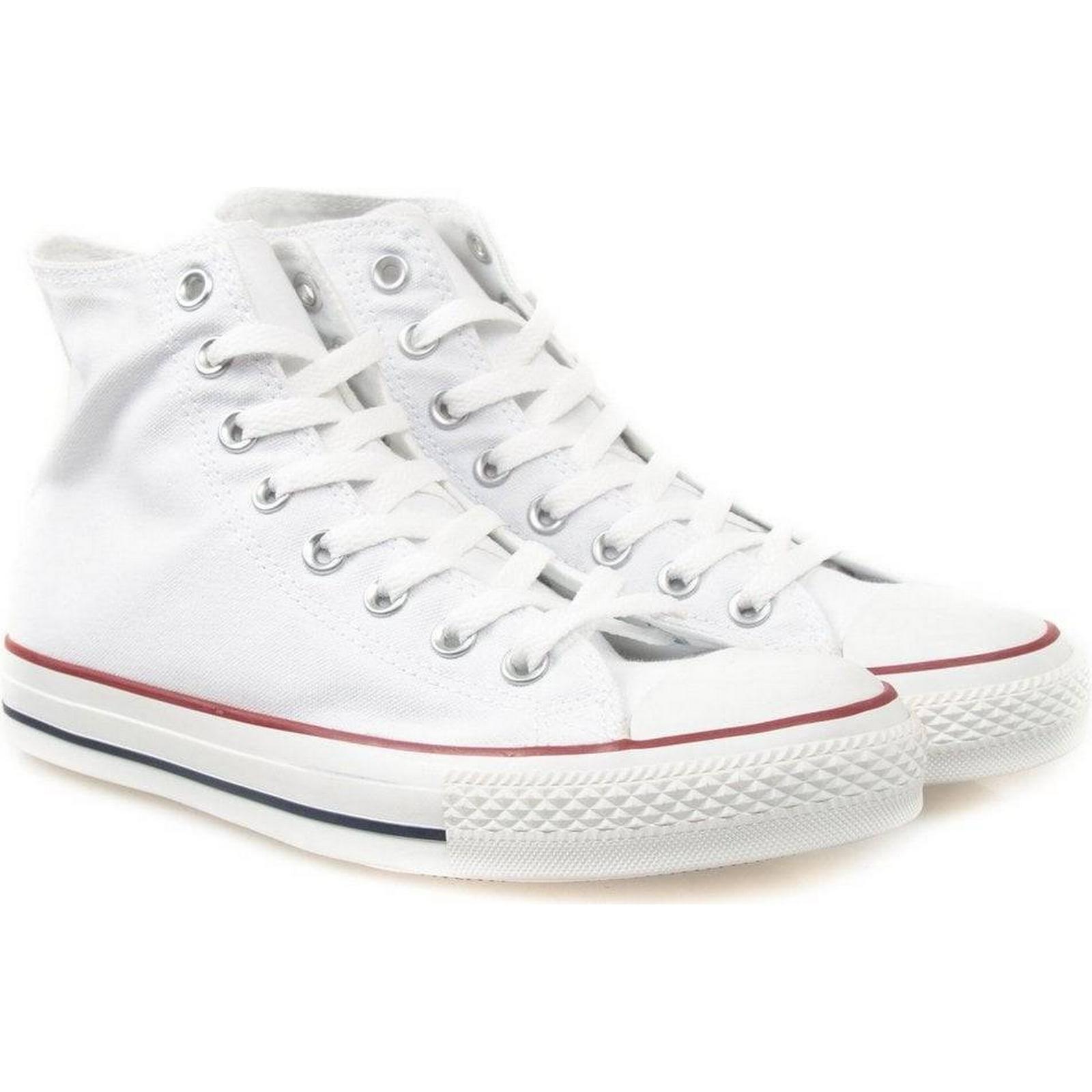 Converse Colour: All Star Hi - Optical White Colour: Converse White, Size: UK 12 71575c