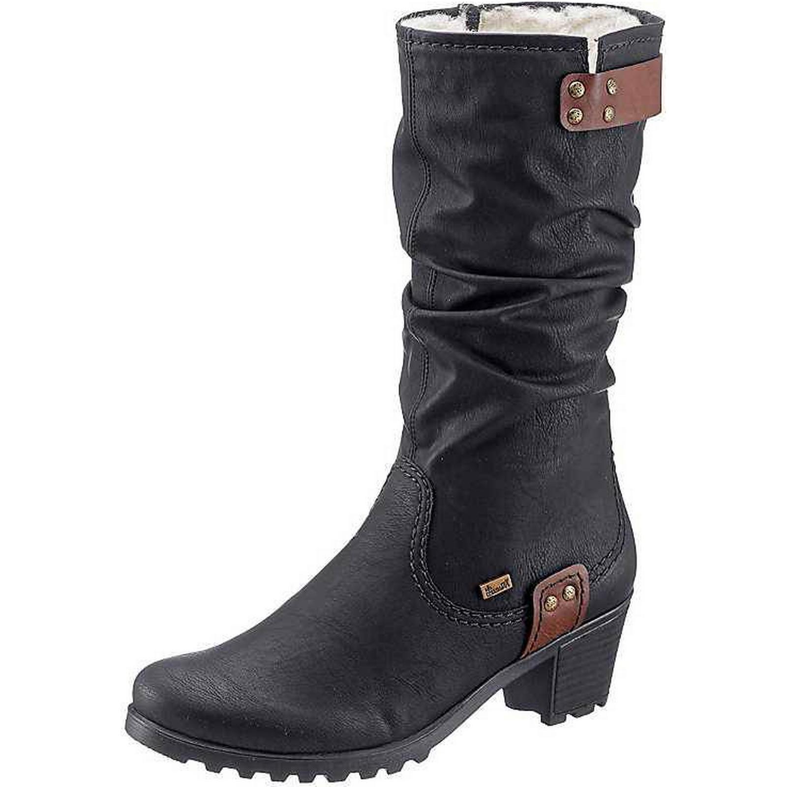 rieker par mi - mollet les bottes d'hiver par rieker rieker: homme femme: le design moderne f4f938