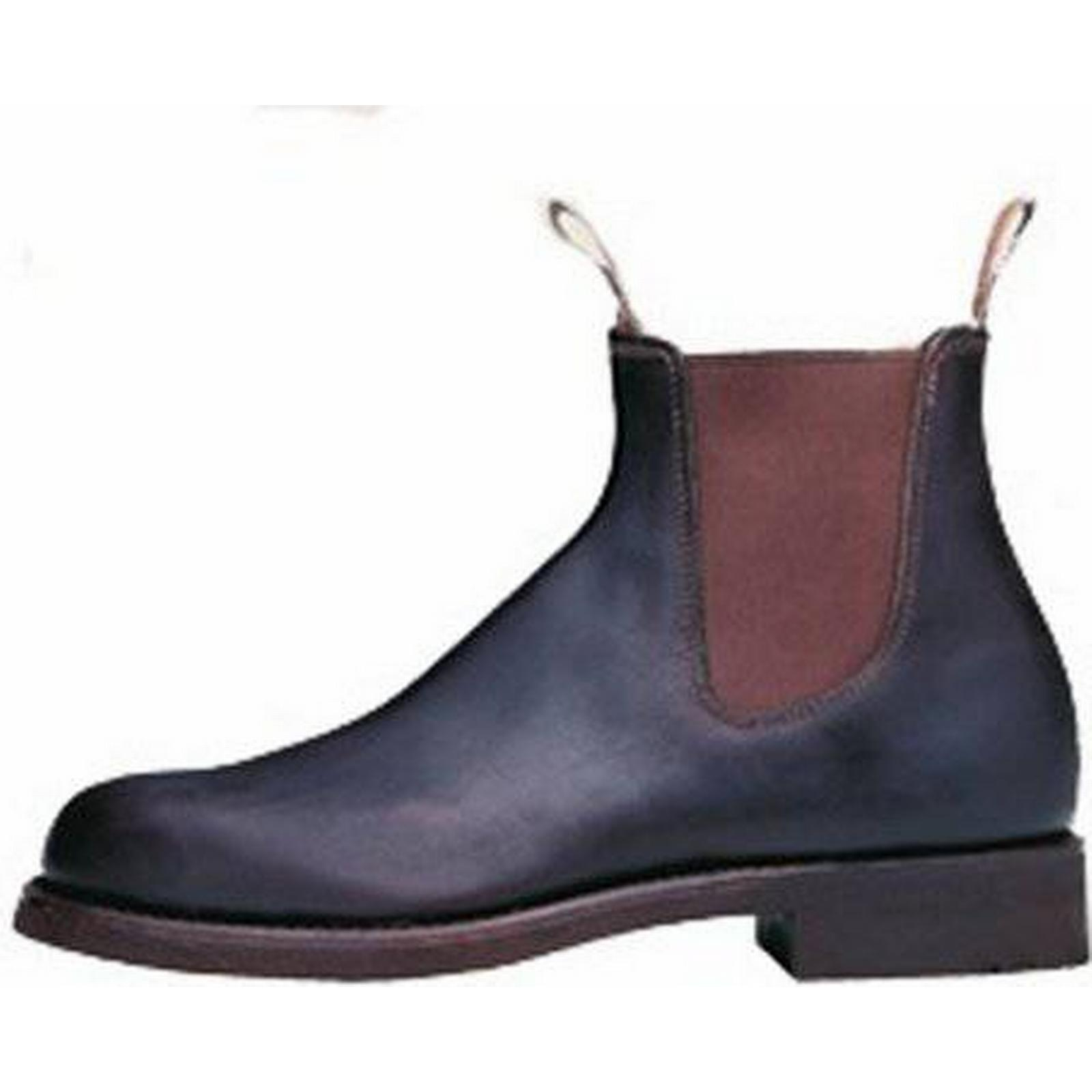 RM Williams Classic Mens Pull On 9, Leather Ankle Boot Size: 9, On Colour: B 29b252