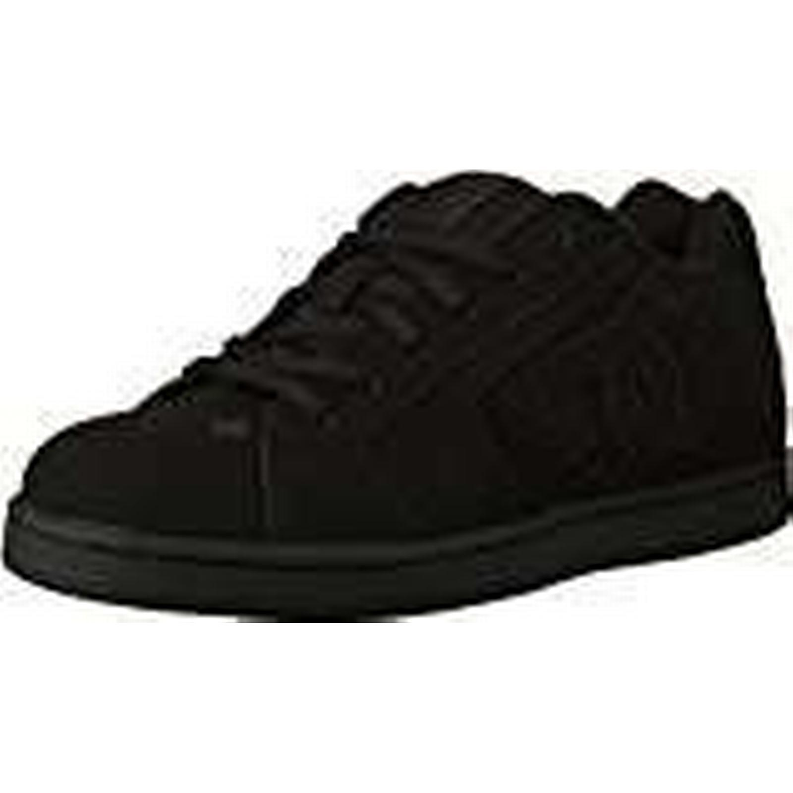 DC Shoes, Net, Men's Skateboarding Shoes, DC Black, Black, 8 UK 5b5f6c