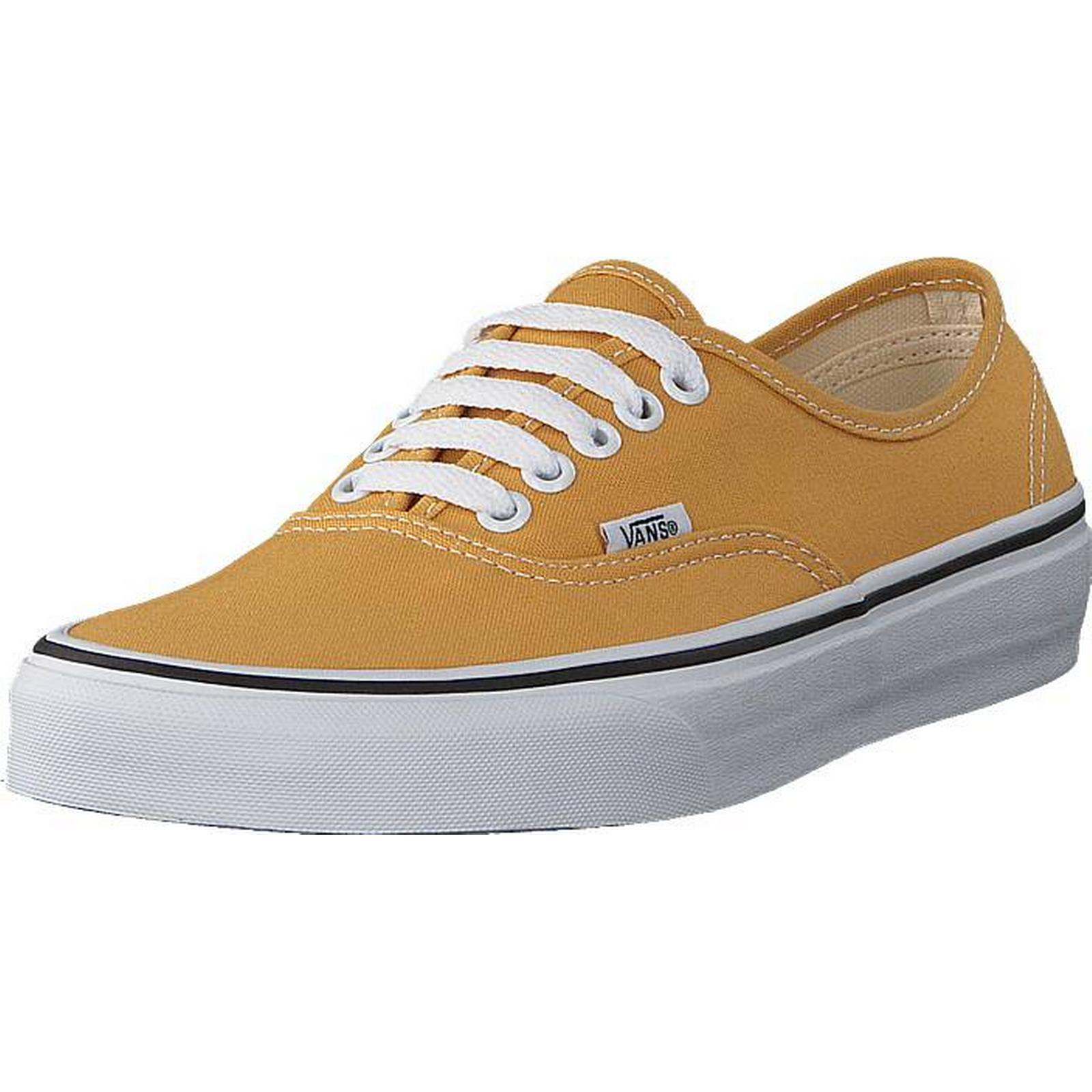Vans Ua Authentic Ochre/true White, White, Ochre/true Shoes, Trainers & Sport Shoes , Low-top Trainers, Brown, Unisex, 44 165f0d