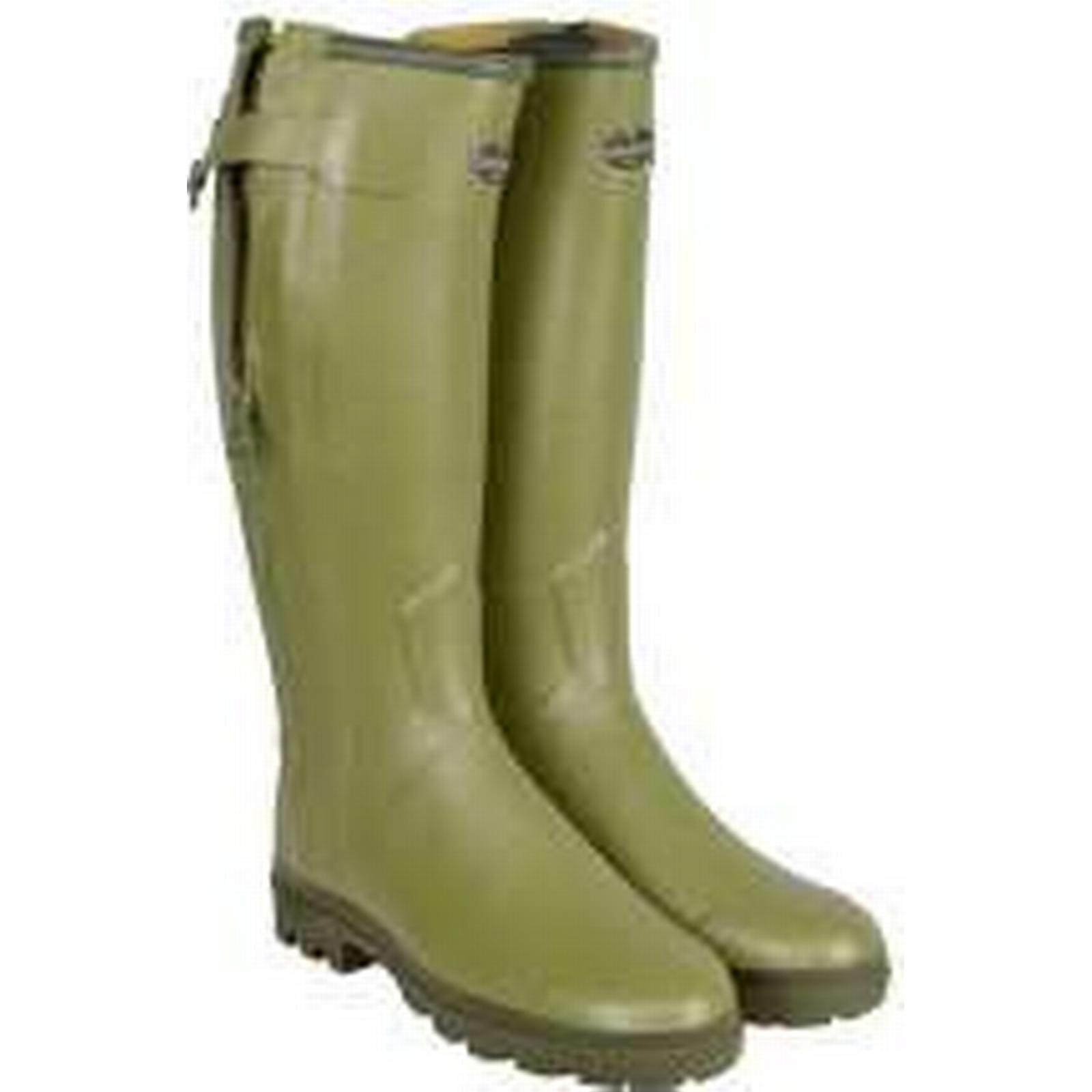 Le Chameau Ladies Chasseur Wellington (UK6.5) Boots, Vert Vierzon, EU40 (UK6.5) Wellington 87c203