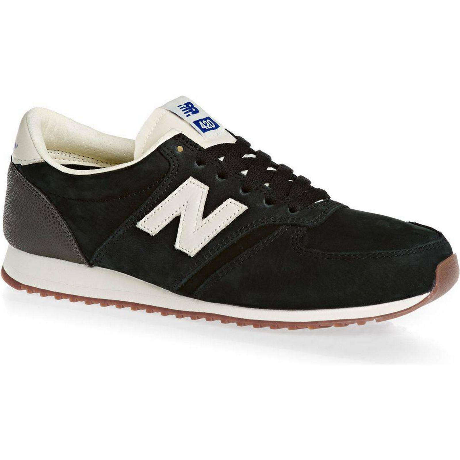 New Balance Trainers Shoes - New Balance U420 Shoes Trainers - Black 780015