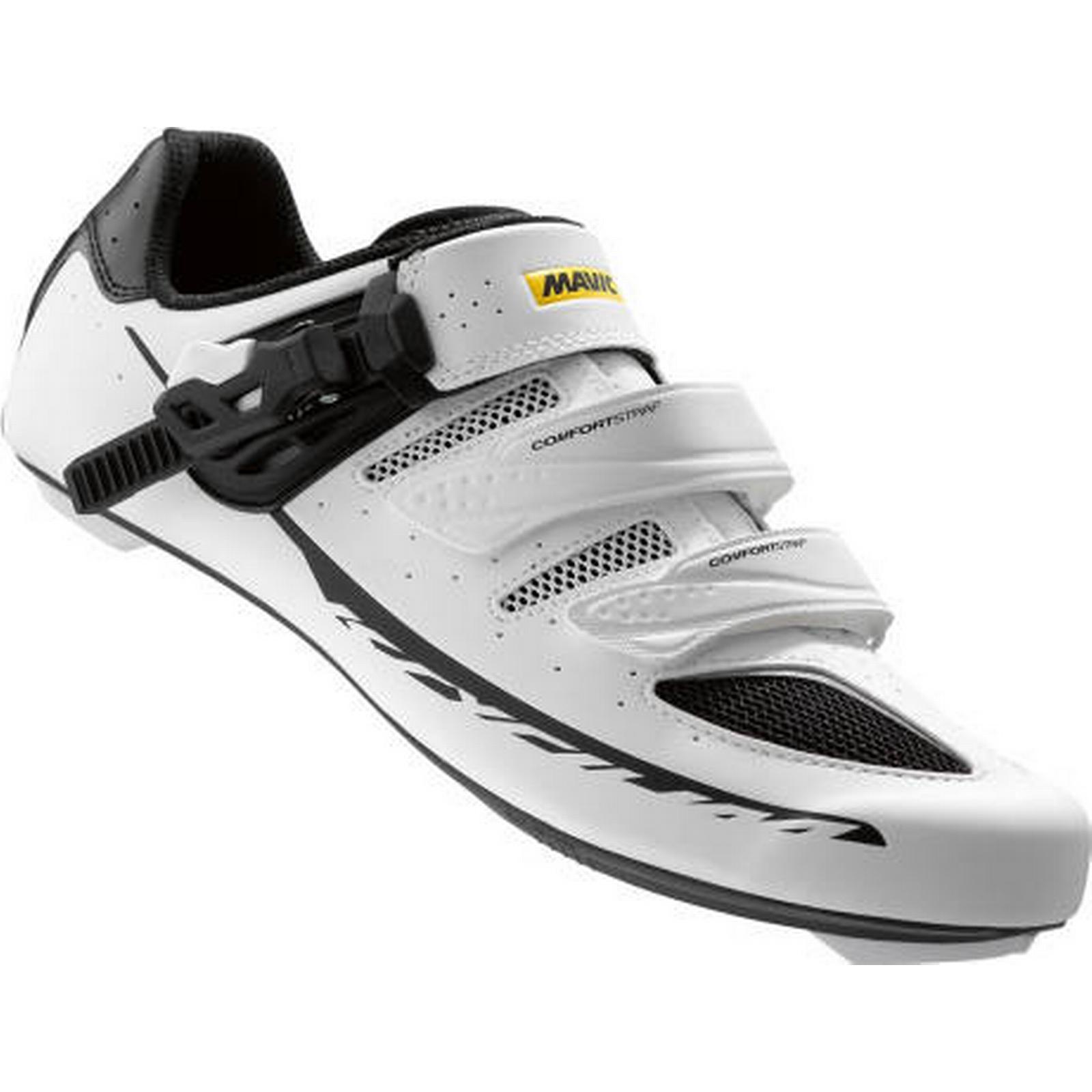 Mavic Shoes Mavic Ksyrium Elite II Road Cycling / Shoes 2016 - White / Cycling Black / EU48 2/3 355478