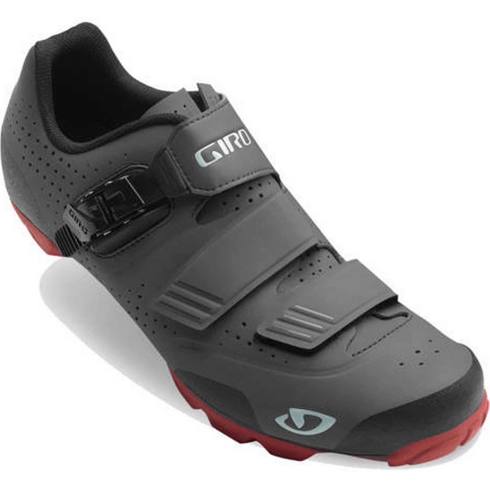 Giro Mountain Shoes Giro Privateer R Mountain Giro Bike Shoes - Dark Shadow / Red / EU48 9c5495