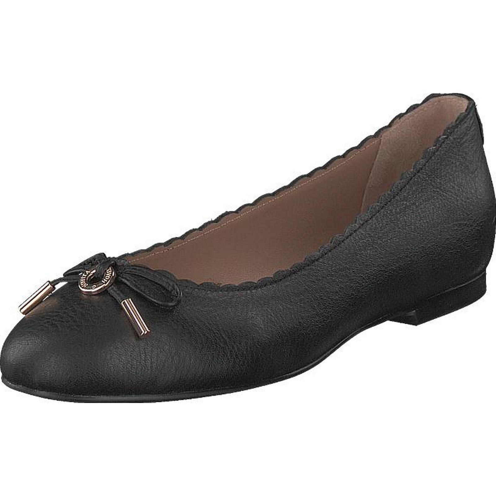 Novita Ballerina Black Black, Shoes, Flats, Ballerina Ballerina Flats, Shoes, Grey, Female, 36 a7b443