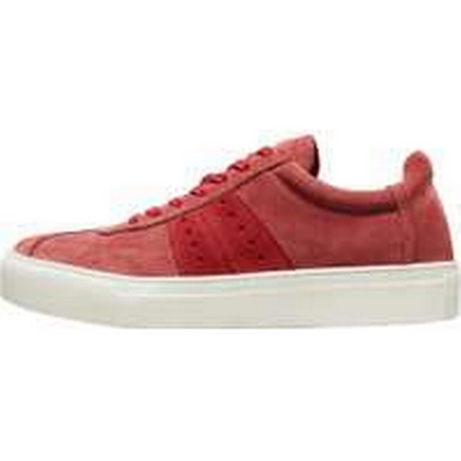 SELECTED - Suede - SELECTED Sneakers Women Red (36) 0383e1