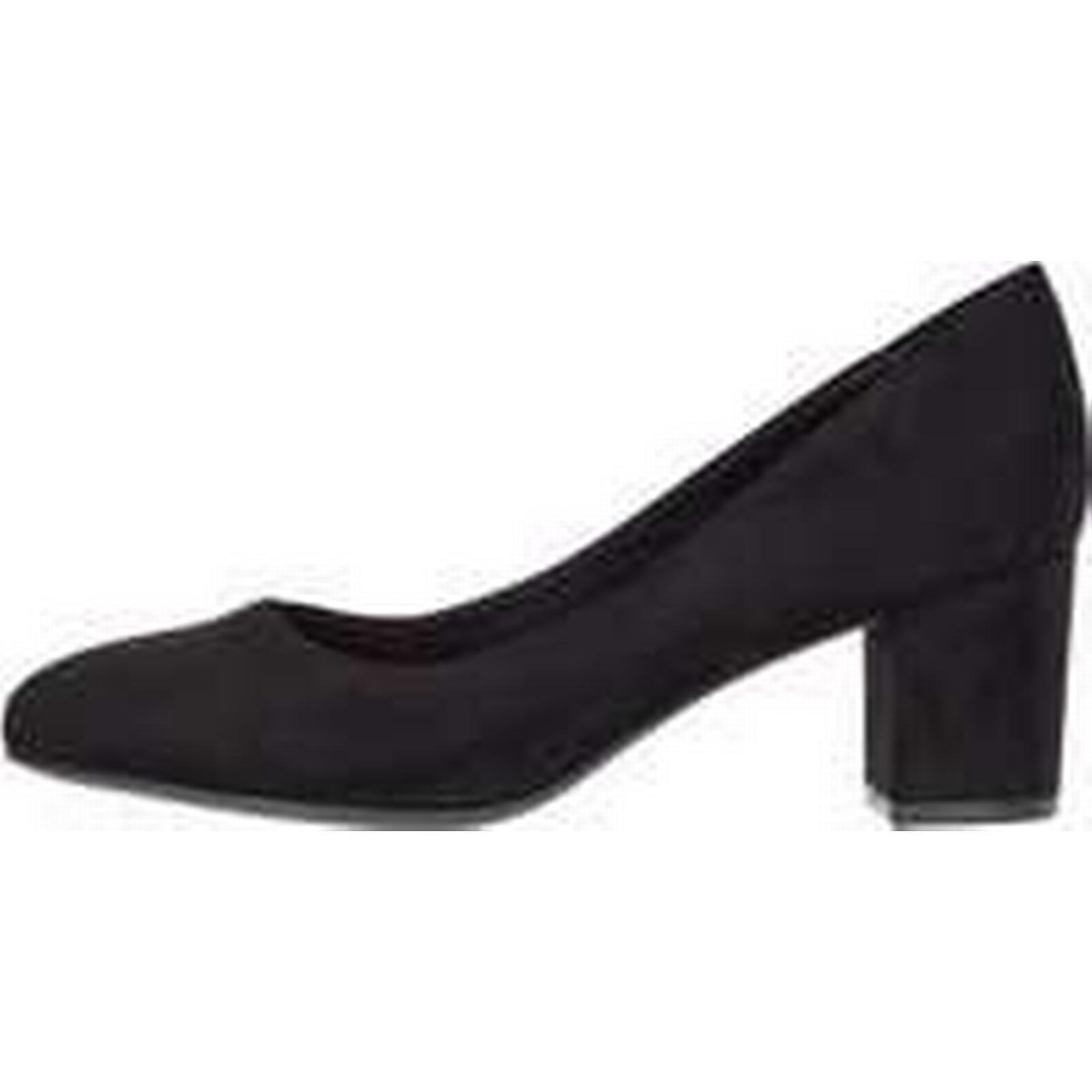 BIANCO Black Block Heel Pumps Women Black BIANCO (36):Men/Women:precious boutique 20ba38