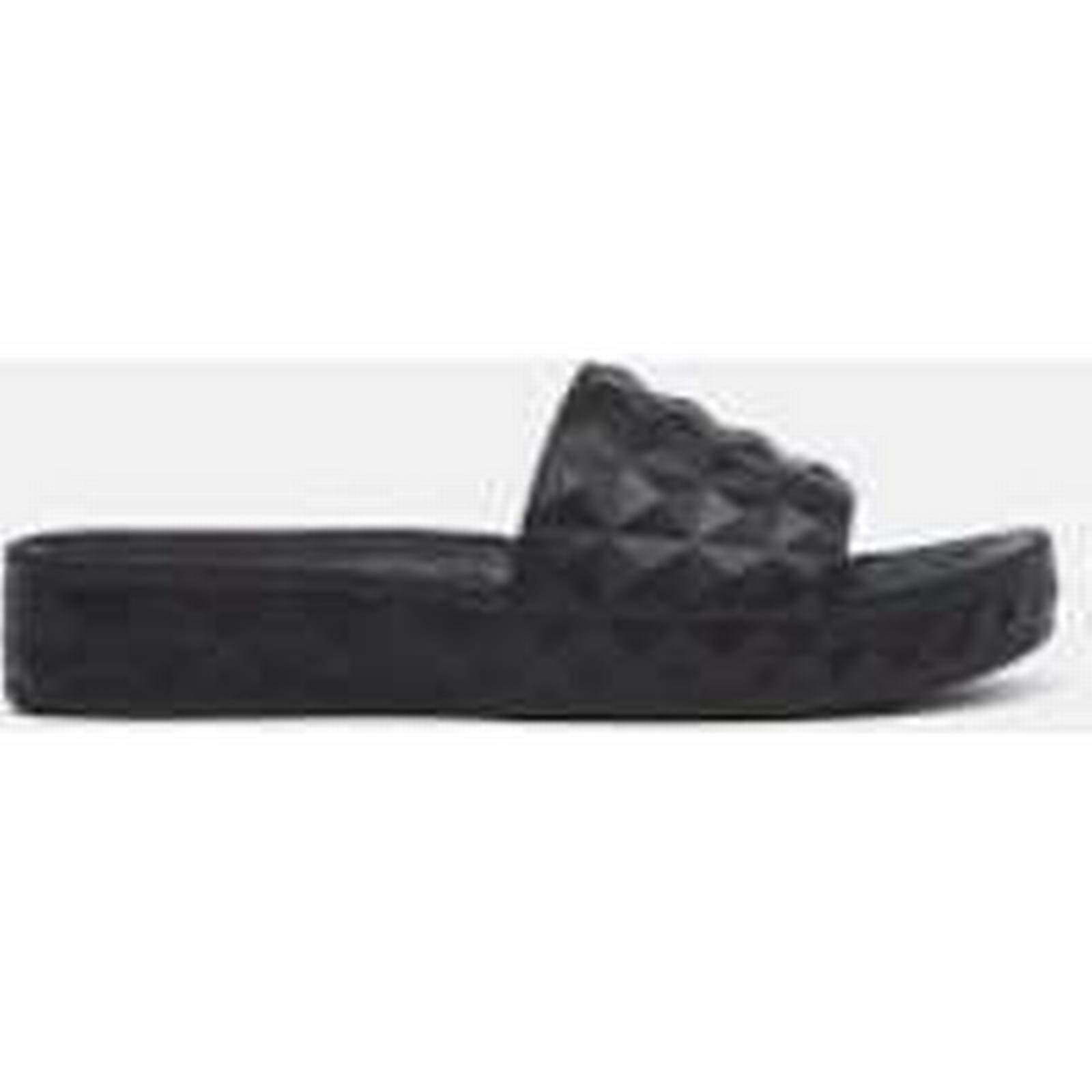 Ash Women's Splash 6 Slide Sandals - Black - UK 6 Splash - Black dc78d3