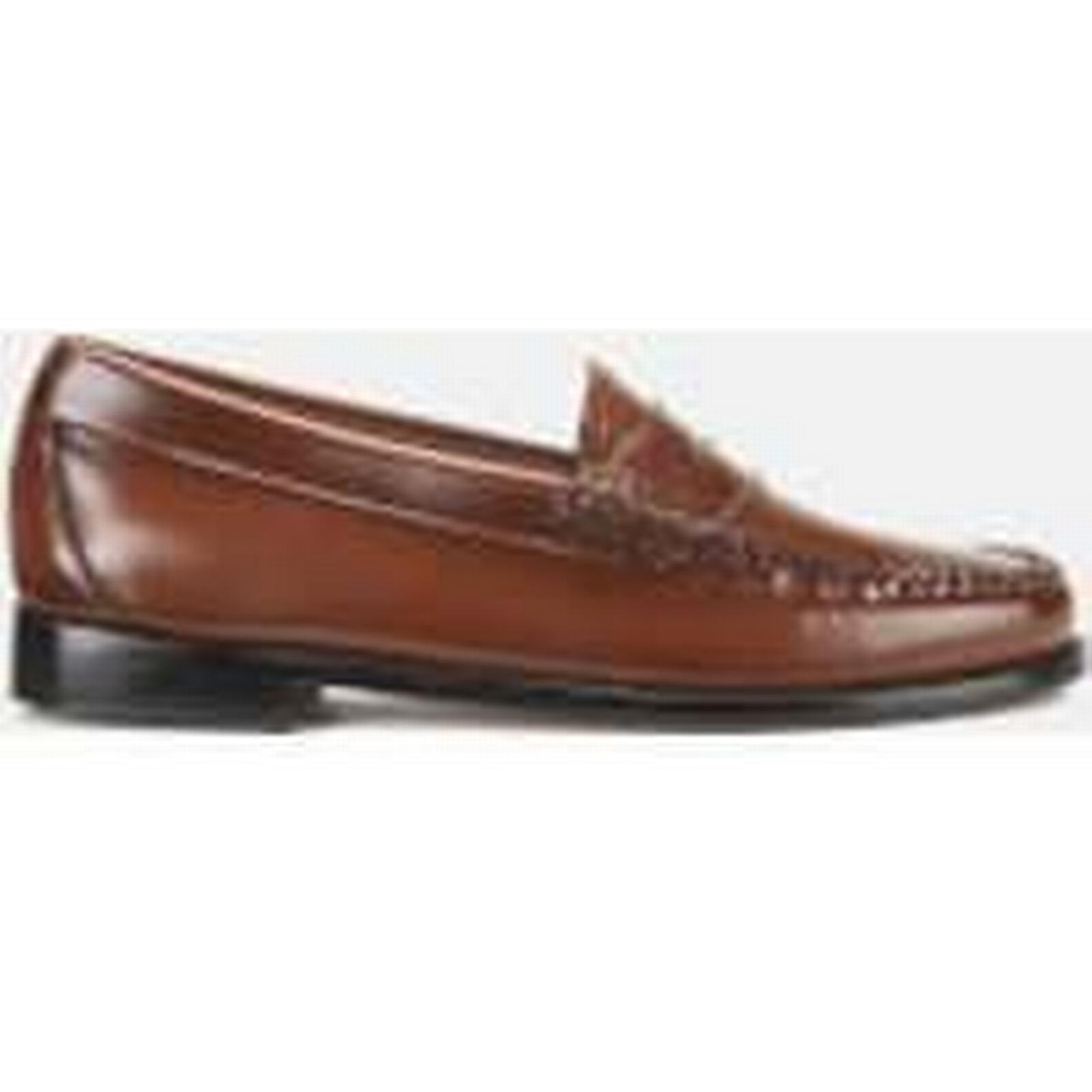 Bass Weejuns - Women's Penny Leather Loafers - Weejuns Mid Brown - UK 5 - Brown 90c924