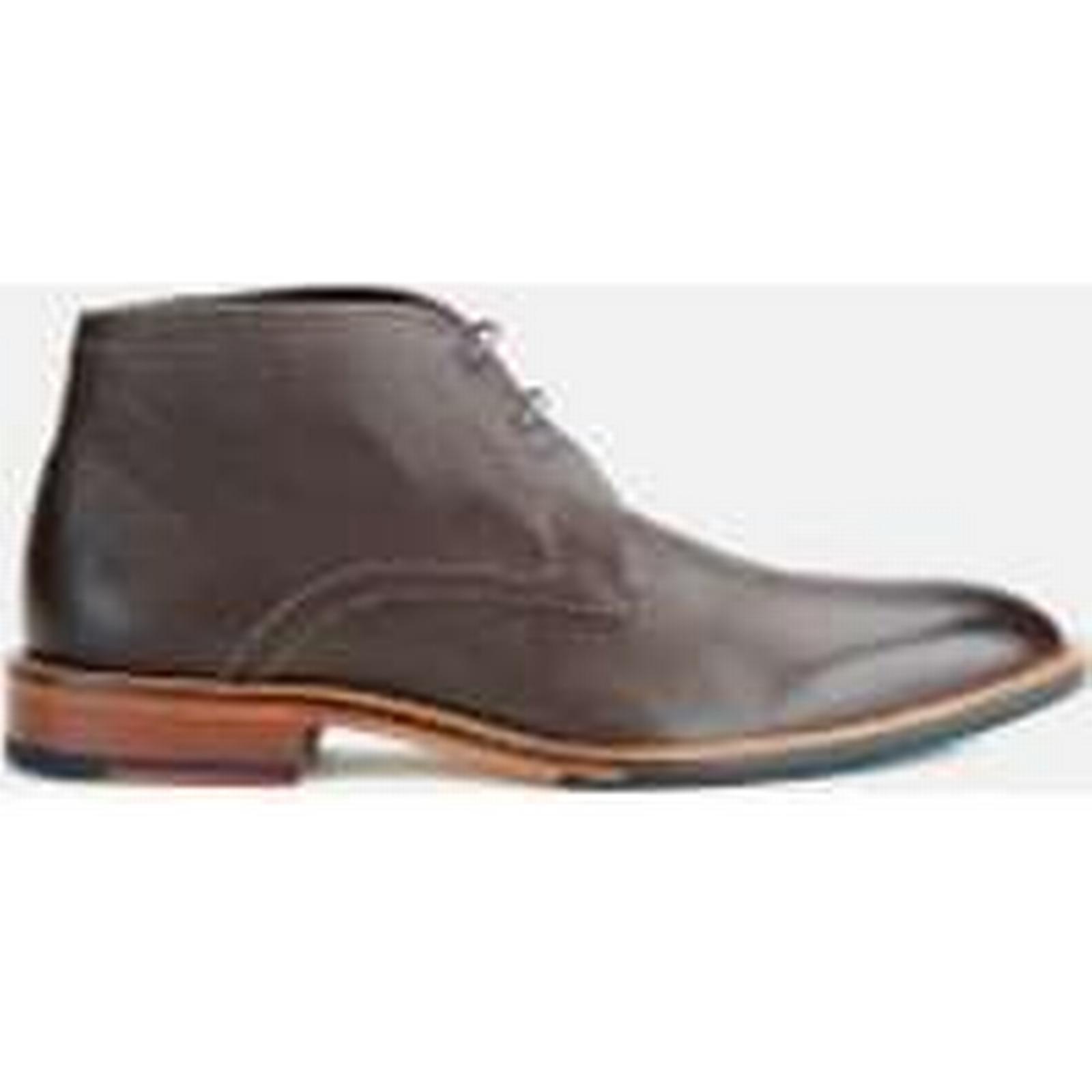 Ted Baker Men's Torsdi4 Leather Desert UK Boots - Brown - UK Desert 7 - Brown c68e52