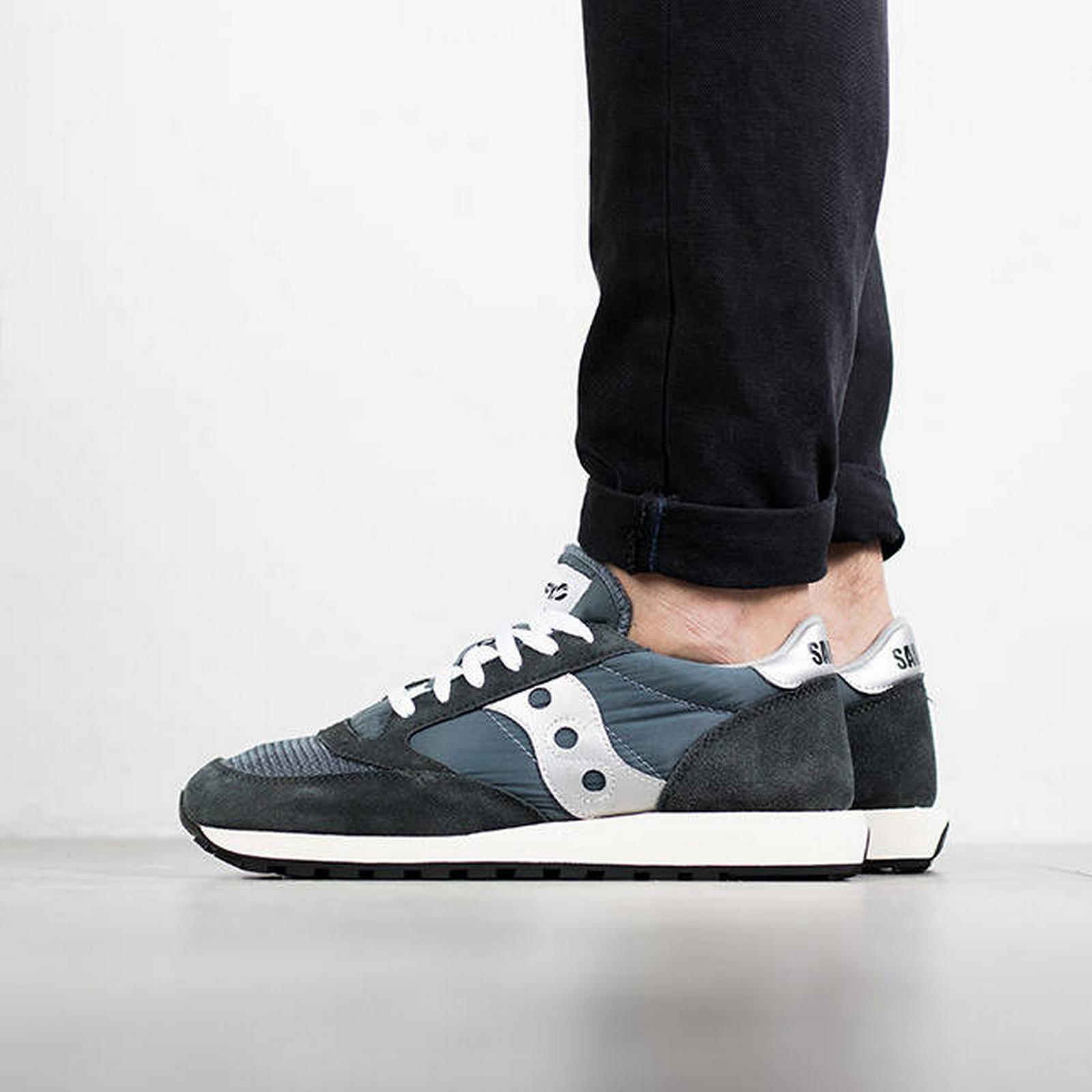 Saucony Men's Shoes sneakers Saucony Jazz Size Original S70368 4 BLUE Size Jazz 46 4b5b9e