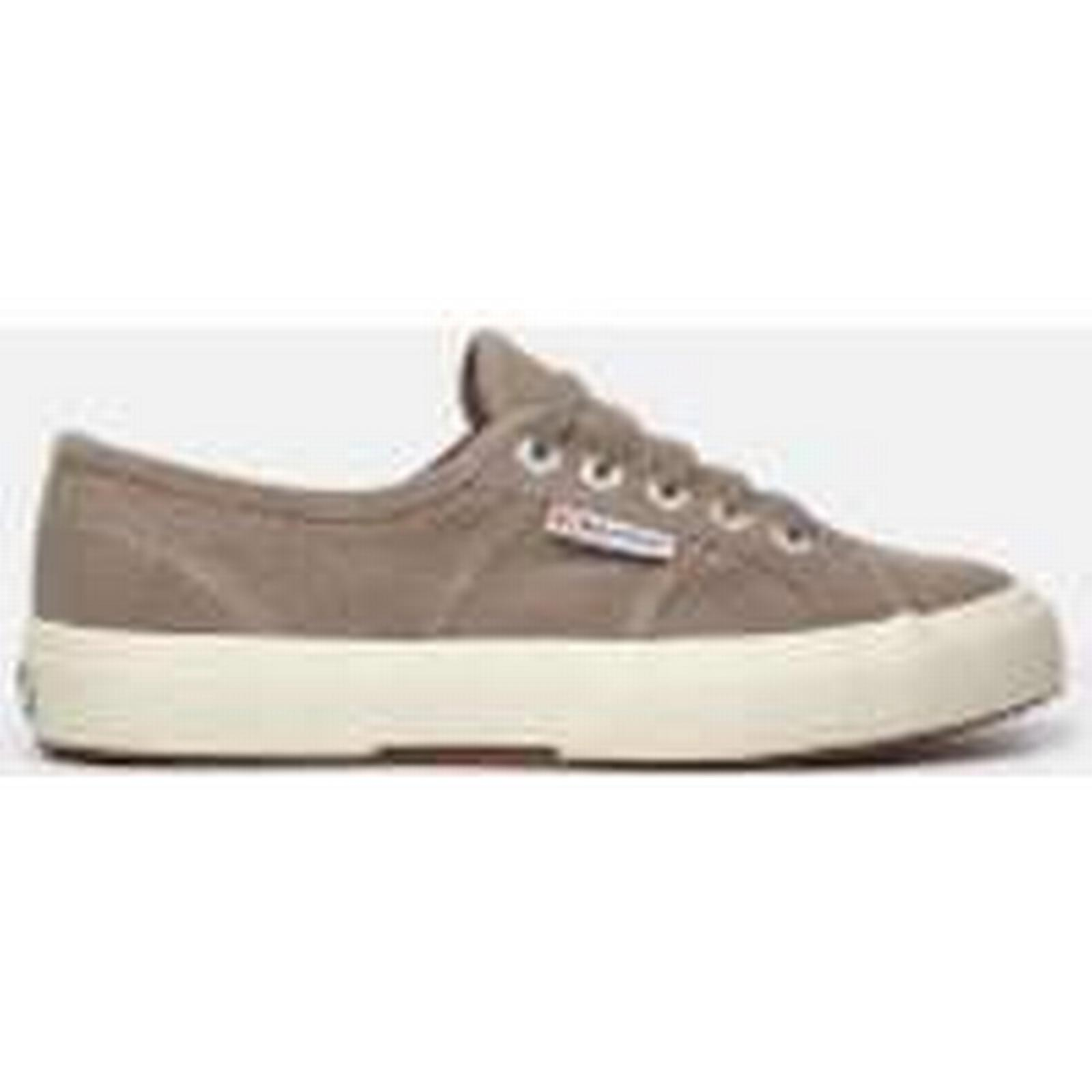 Superga Women's 2750 3 Perfsuew Trainers - Sand - UK 3 2750 - Brown 563807