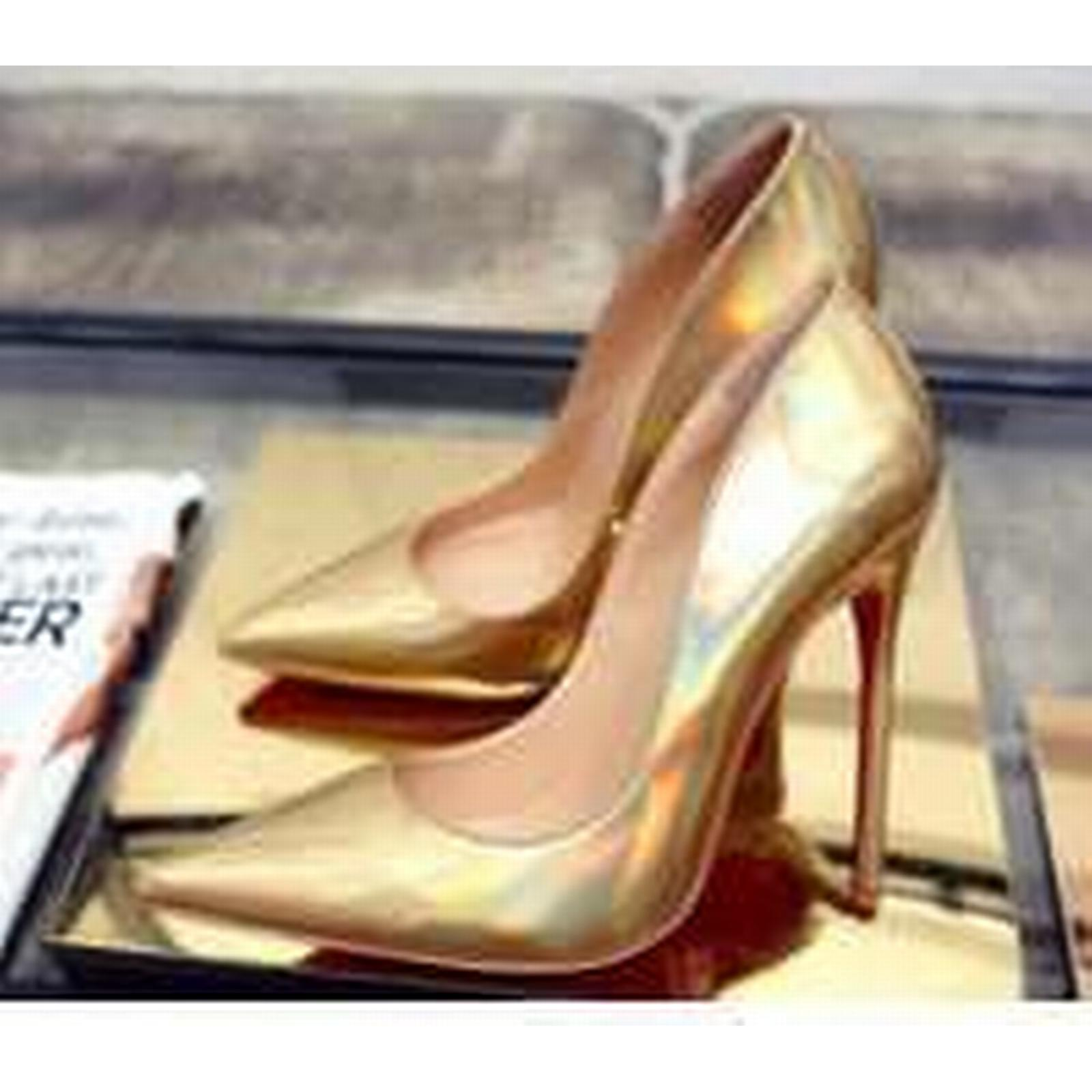 Bonanza (Global) heeled pp364 awesome supper high heeled (Global) pump,US Size 4-10, gold 73a01f