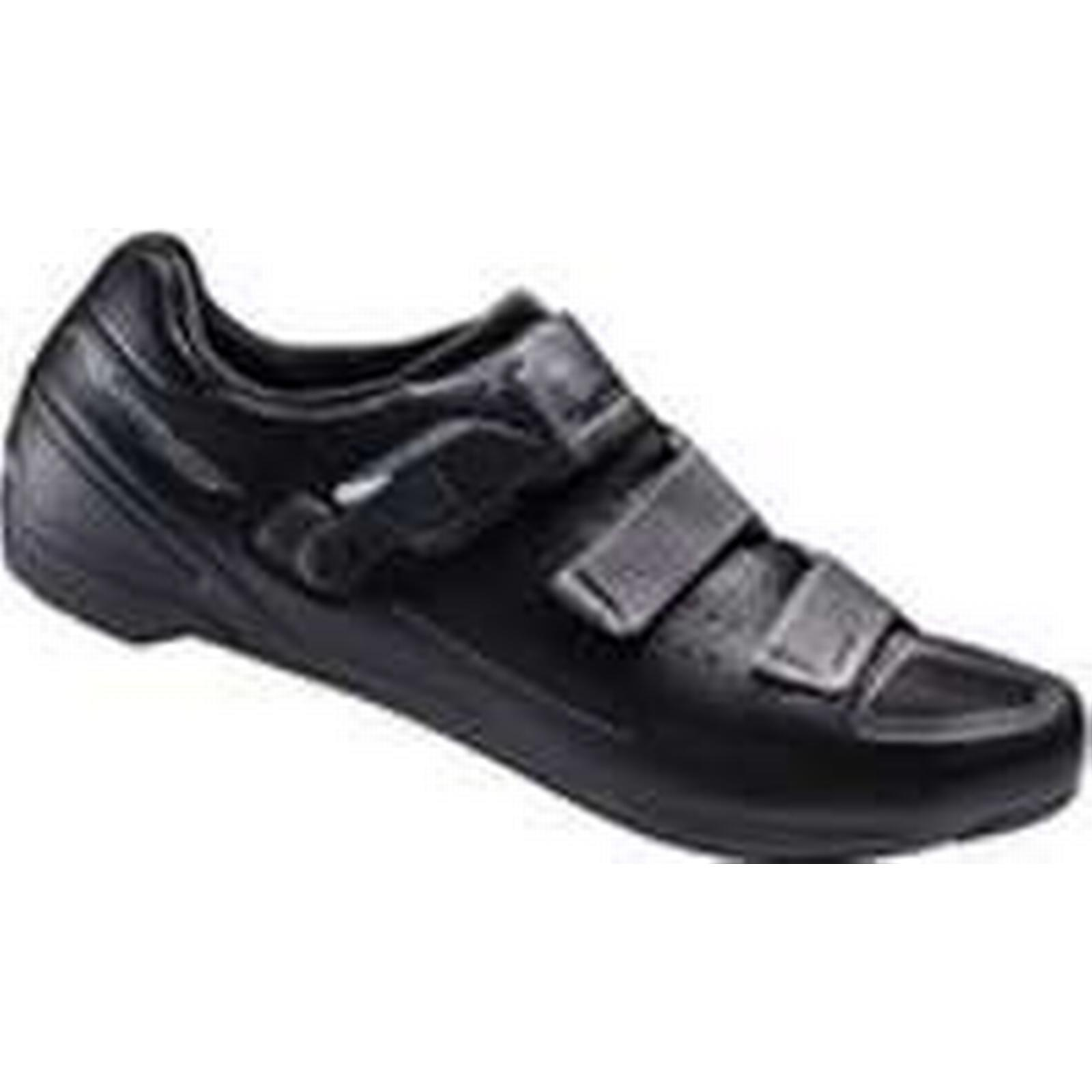 Shimano RP5 SPD-SL Cycling EUR Shoes - Black - EUR Cycling 47 - Black b12573