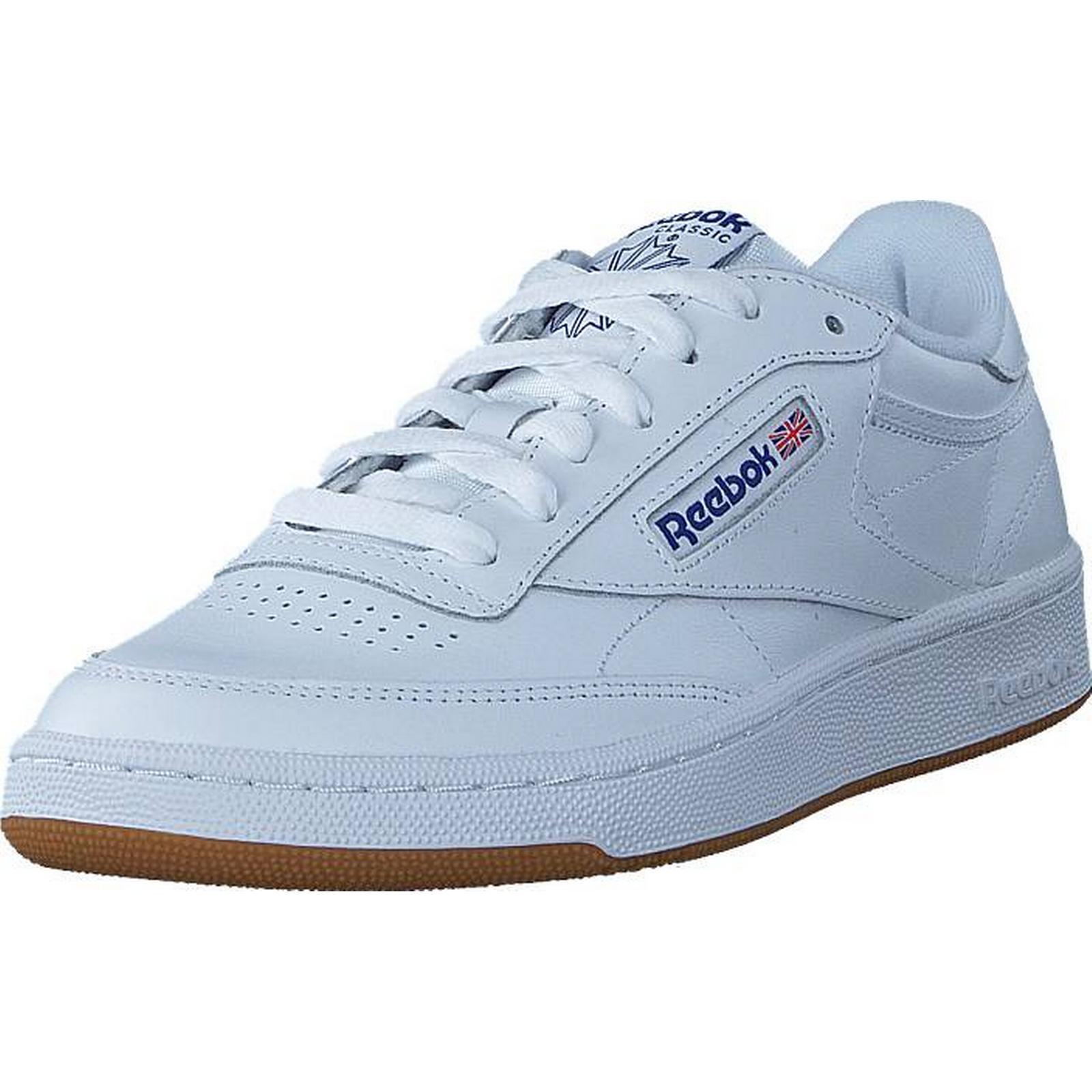 Reebok Classic Club C 85 Int-White/Royal-Gum, Int-White/Royal-Gum, 85 Shoes, Trainers & Sport Shoes , Trainers, White, Male, 42 920f64