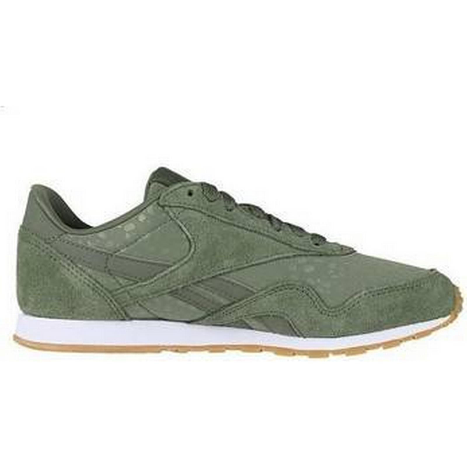 spartoo.co.uk reebok sport cl nylon nylon nylon slim txt l femmes & #  ; s Chaussure s formateurs en vert eeb94b