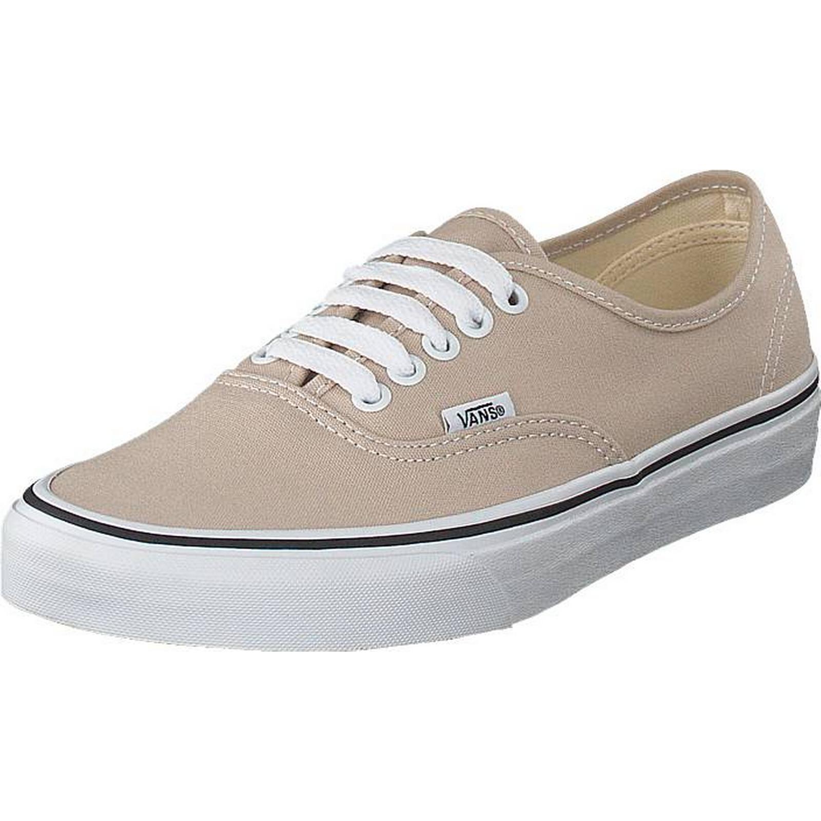 Vans Ua Authentic Silver Lining/true White, Shoes, Flats, Plimsolls, Beige, Brown, Beige, Plimsolls, Unisex, 40 38d8d8