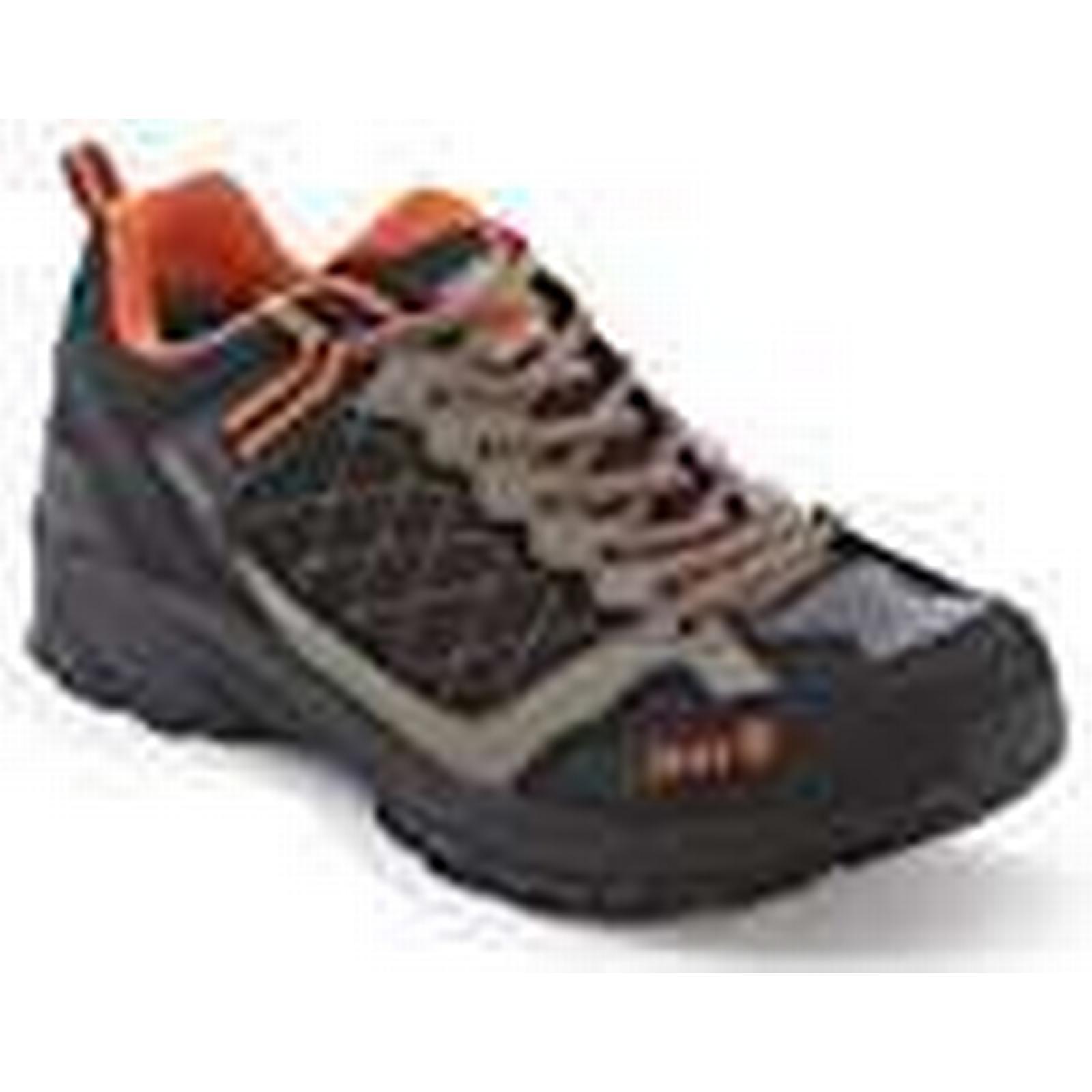 Izas Men's Nilsen Outdoor Shoes, 46 Black/Orange, Size 46 Shoes, d21910
