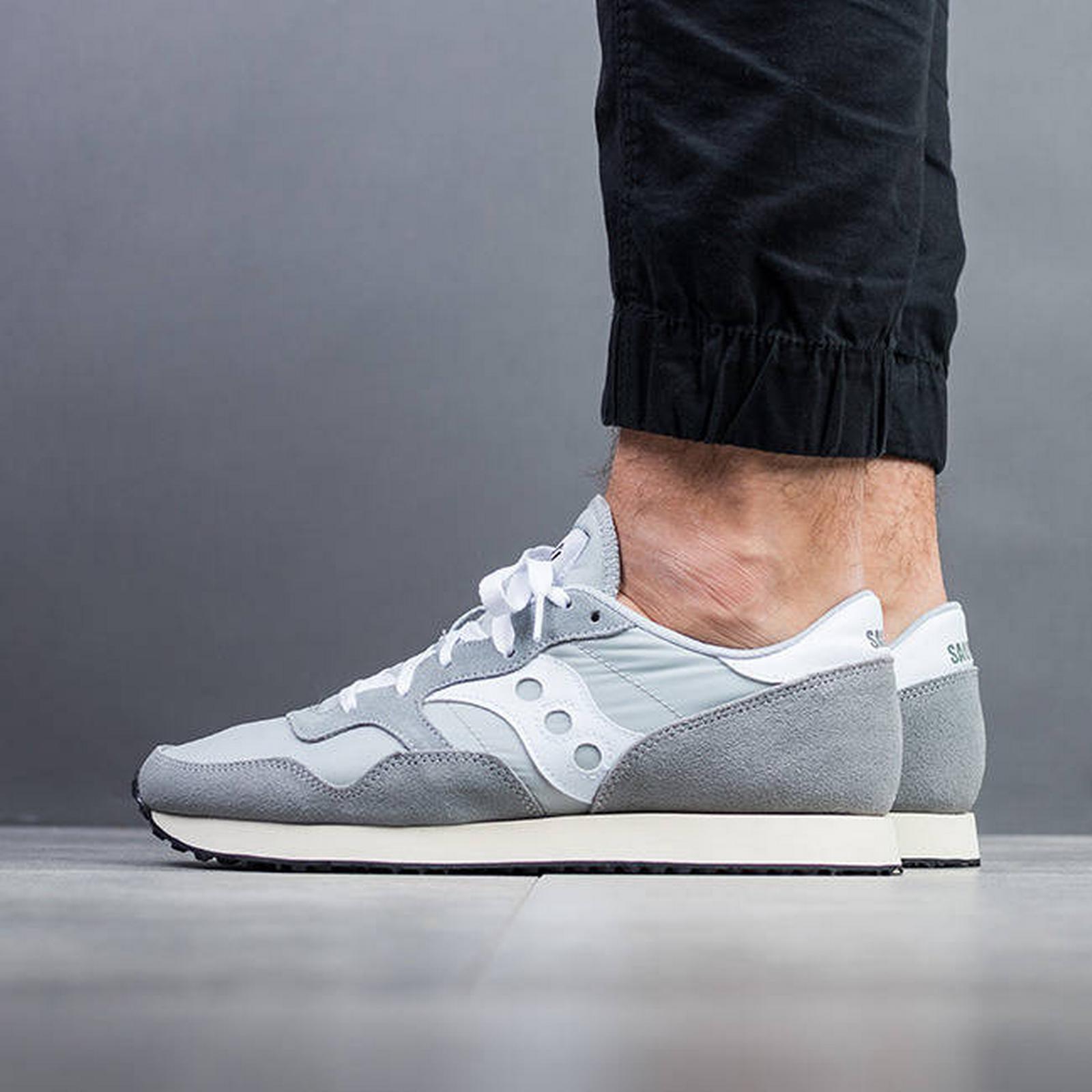 Saucony S70369 Men's Shoes sneakers Saucony Dxn Trainer S70369 Saucony 4 SZARY Size 44,5 ce46e3