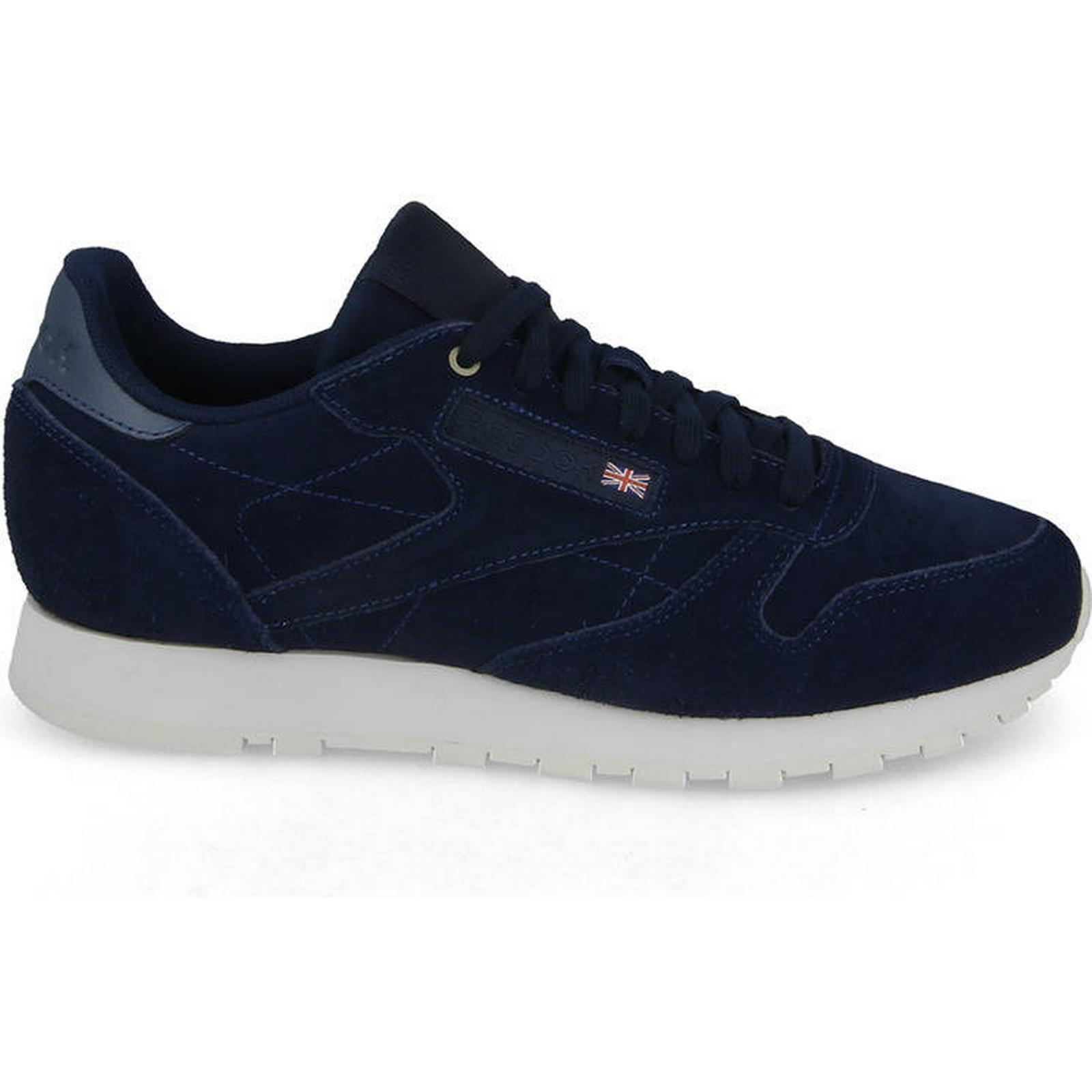 Reebok Classic Men's Leather Shoes sneakers Reebok Classic Leather Men's x Montana Cans Color System CM9609 Navy Size 42,5 2cd557