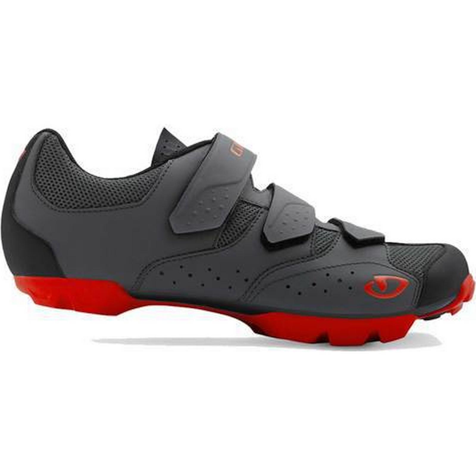 Giro Carbide R II MTB - Cycling Shoes   Grey/Red - MTB 44 6f8076