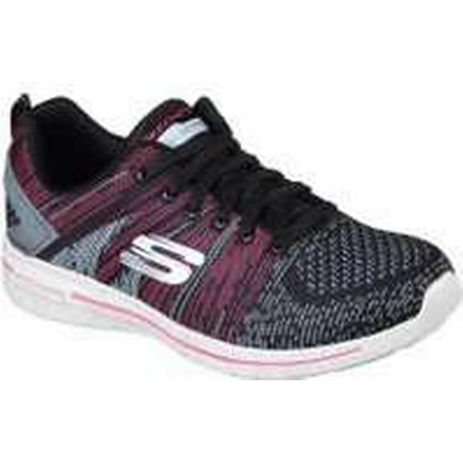 Skechers Shoes Burst 2.0 Ladies Walking Shoes Skechers - Pink/Black, 8 UK d4bbc3