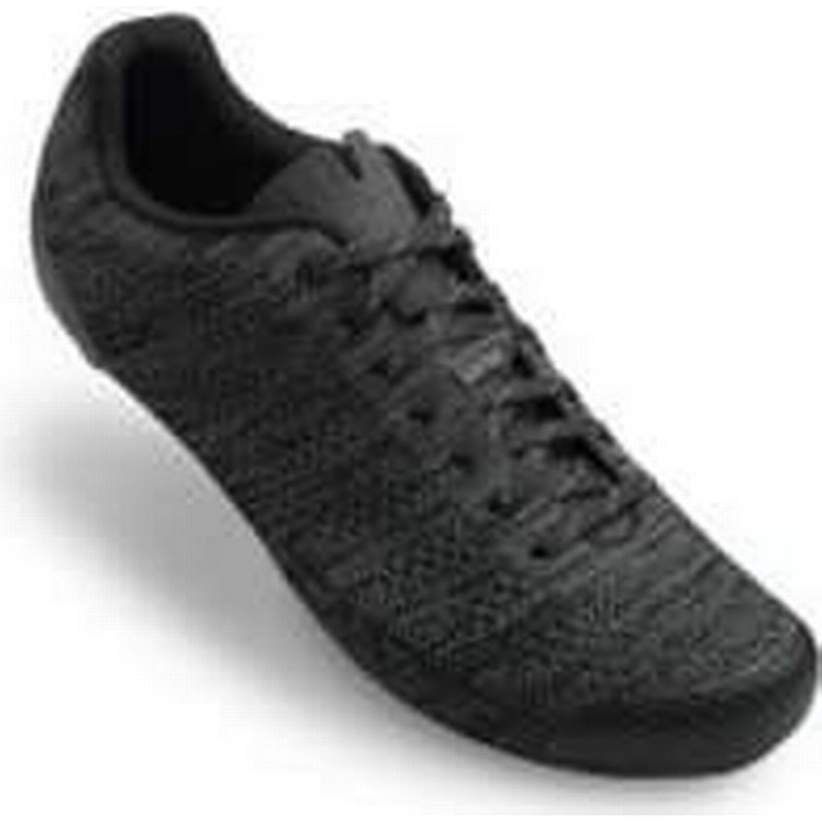 Giro Empire E70 Knit Road Cycling Shoes - 45/UK Black/Charcoal Heather - EU 45/UK - 10 - Black e6558a