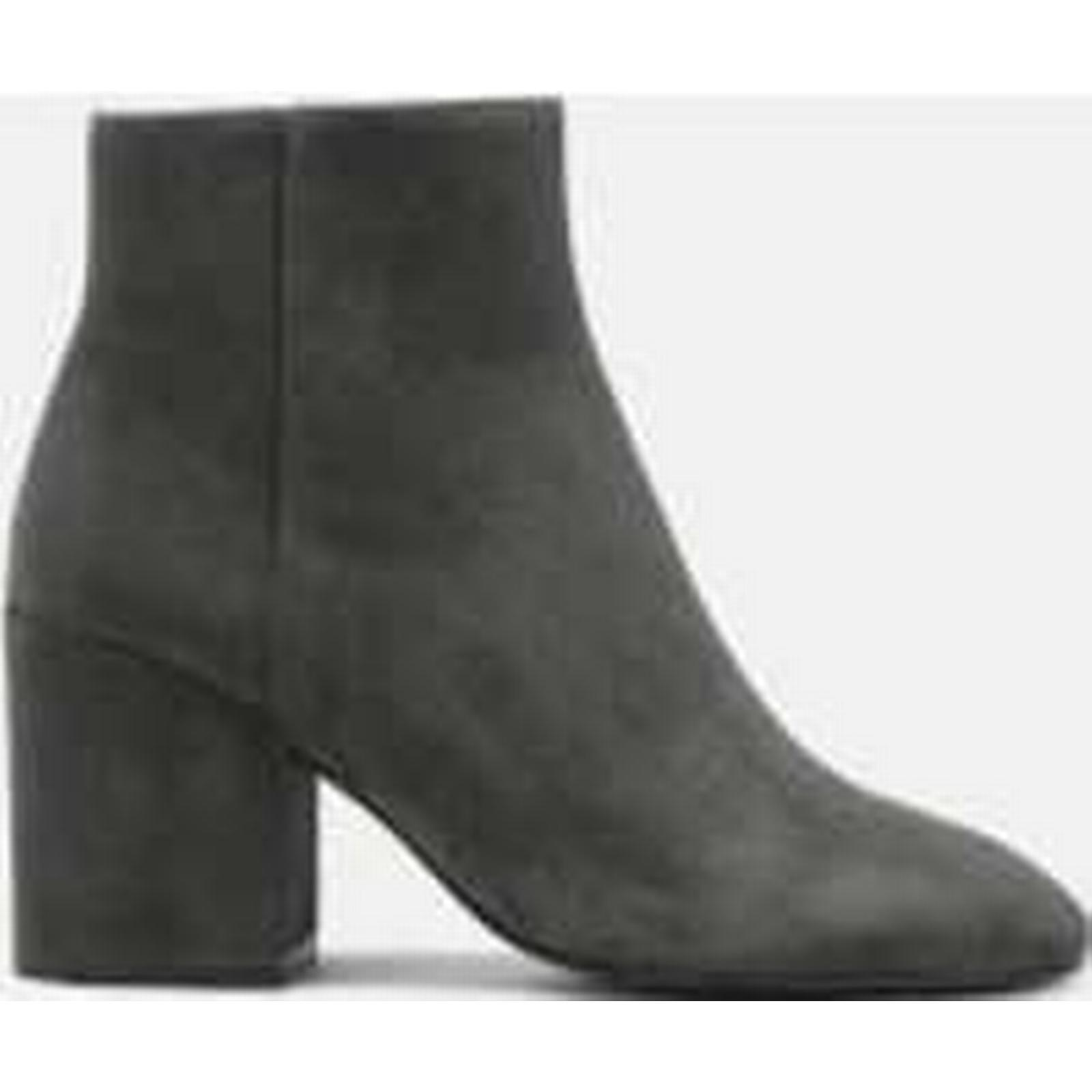Ash Women's Boots Eden Suede Heeled Ankle Boots Women's - Bistro - UK 4 - Grey 869d4e