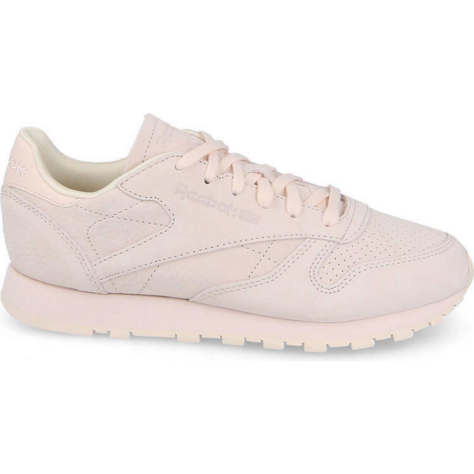 Reebok Classic Women's Shoes NBK sneakers Reebok Classic Leather NBK Shoes CM8766 PINK Size 37,5 5b2522