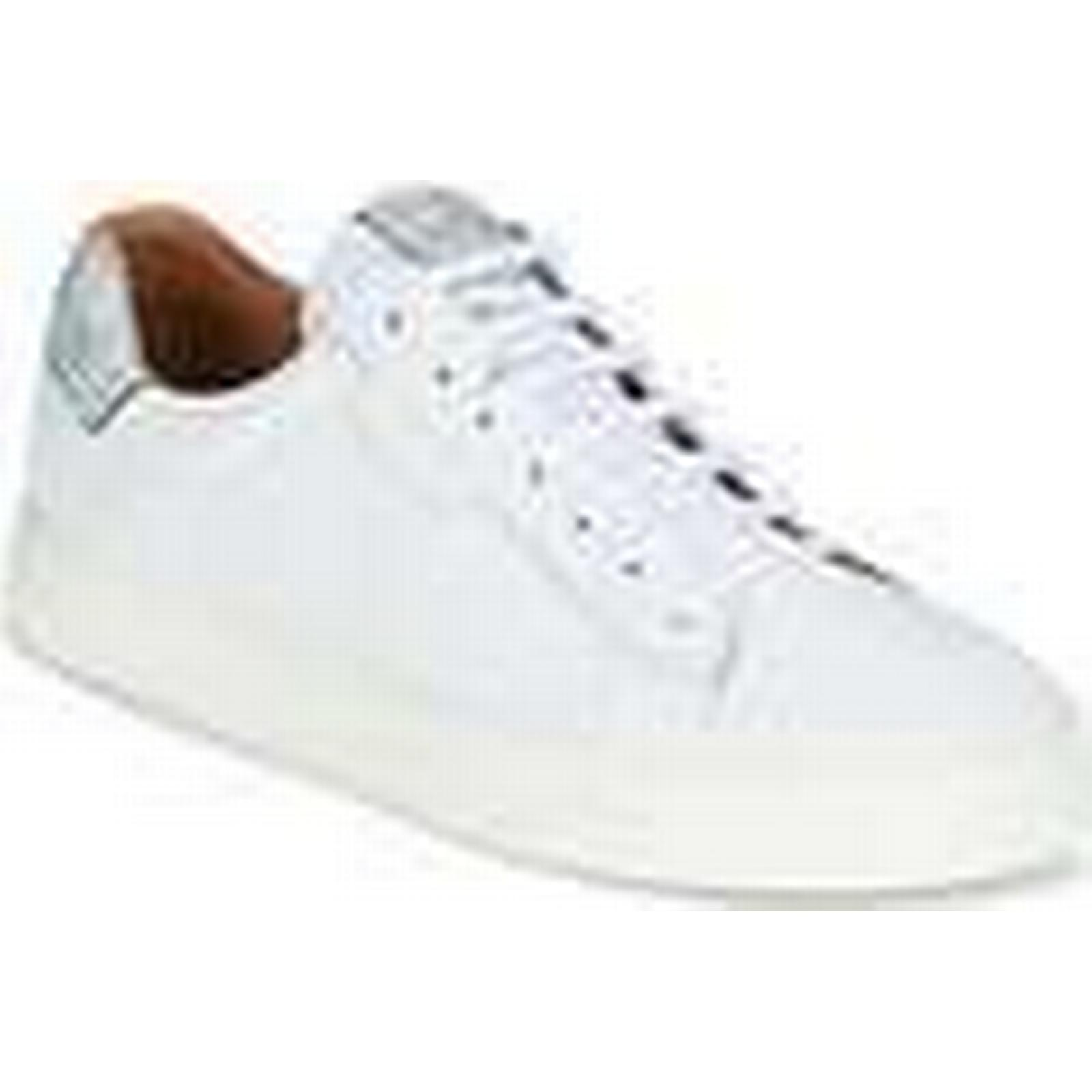 Schmoove men's  SPARK CLAY  men's Schmoove Shoes (Trainers) in White 651aa4
