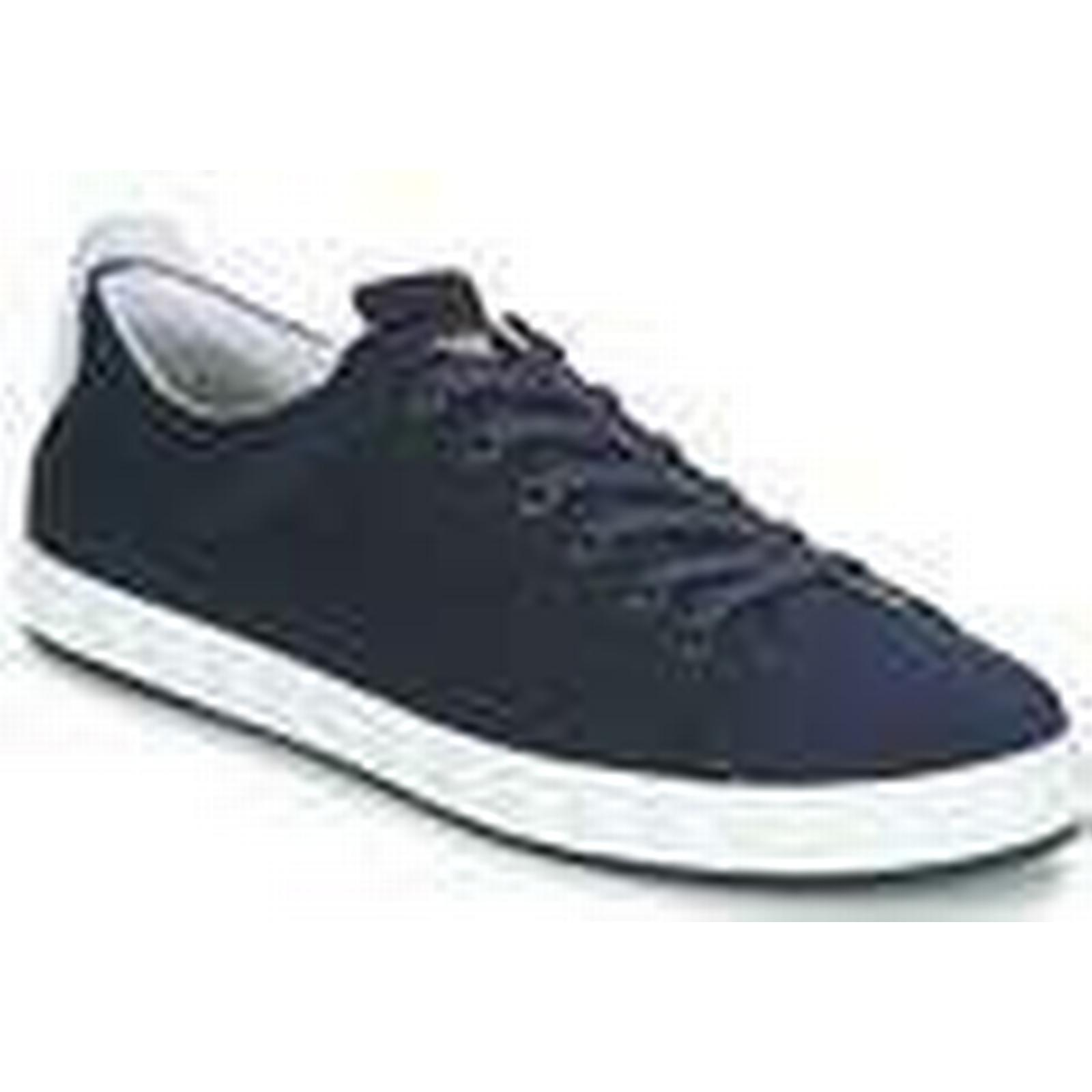 Emporio Armani  ADALBER in  men's Shoes (Trainers) in ADALBER Blue b26d31