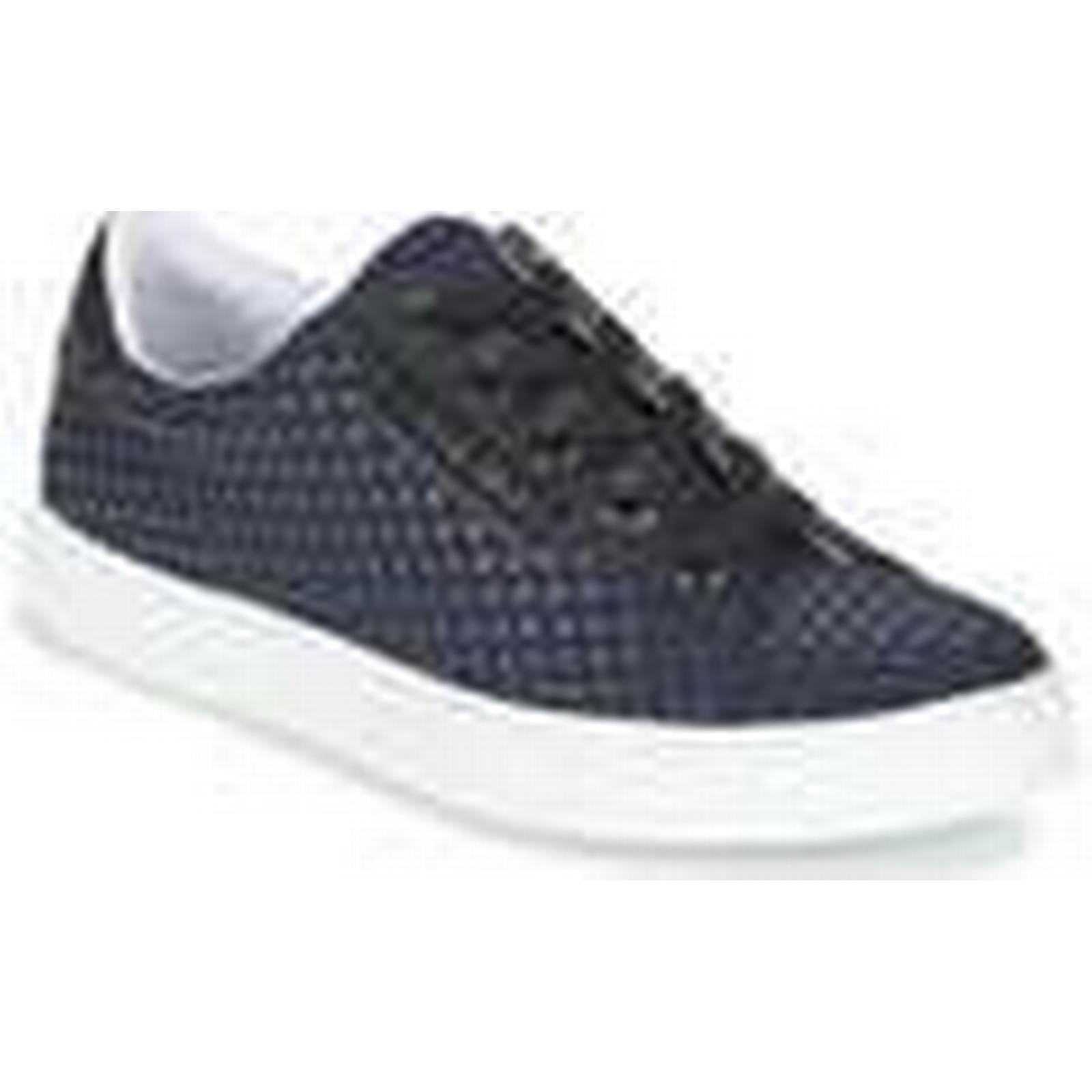 Armani jeans  POSKILO  Blue women's Shoes (Trainers) in Blue  37baef