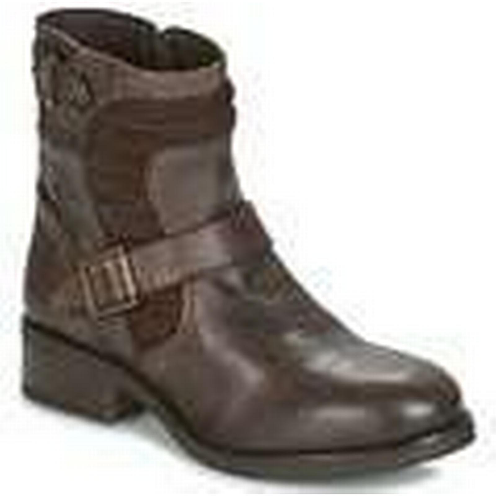 Buffalo Mid  -  women's Mid Buffalo Boots in Brown a51171
